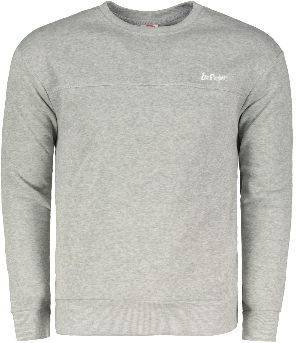 Lee Cooper Fleece Crew pánsky sveter