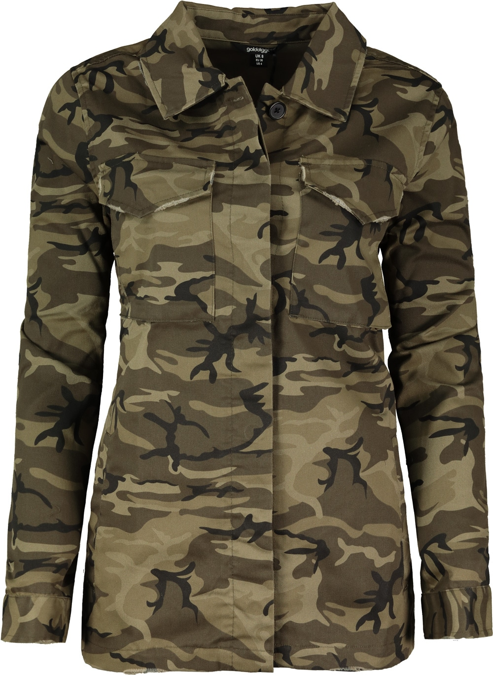 c70b138669b2 Golddigga military jacket ladies levně | Blesk zboží