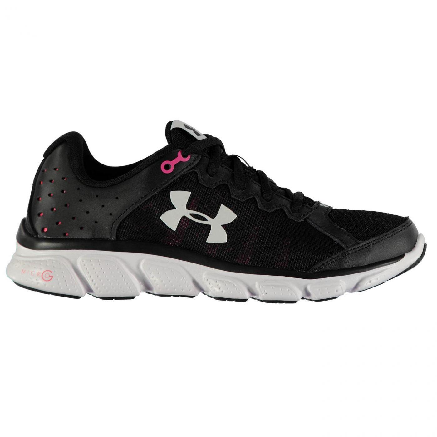 a67d3a280272e Under Armour Micro G Assert 6 Ladies Running Shoes - FACTCOOL