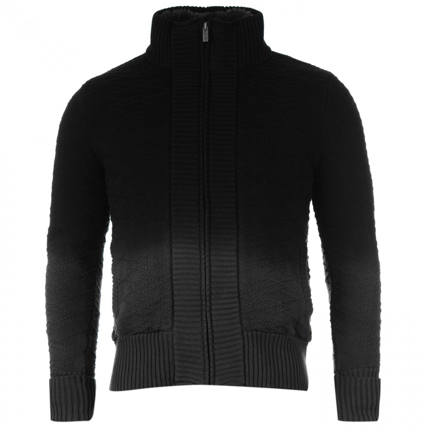hoodie Firetrap 2 Zip Knitted Cardigan