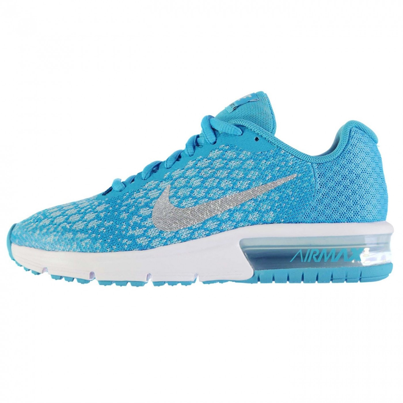 4741b3a784 Nike Air Max Sequent 2 Trainers Junior Girls - FACTCOOL