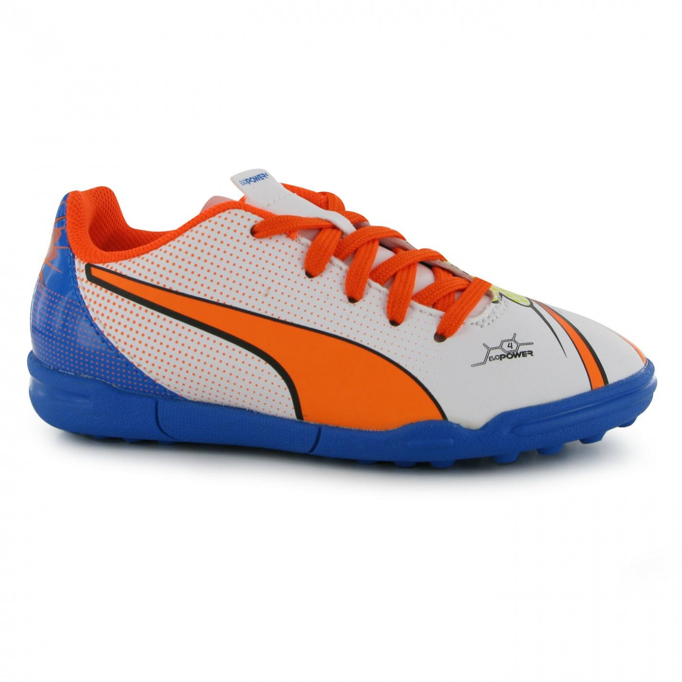 edd3d40a71c Puma EvoPower Pop 4 Childrens Astro Turf Trainers - FACTCOOL