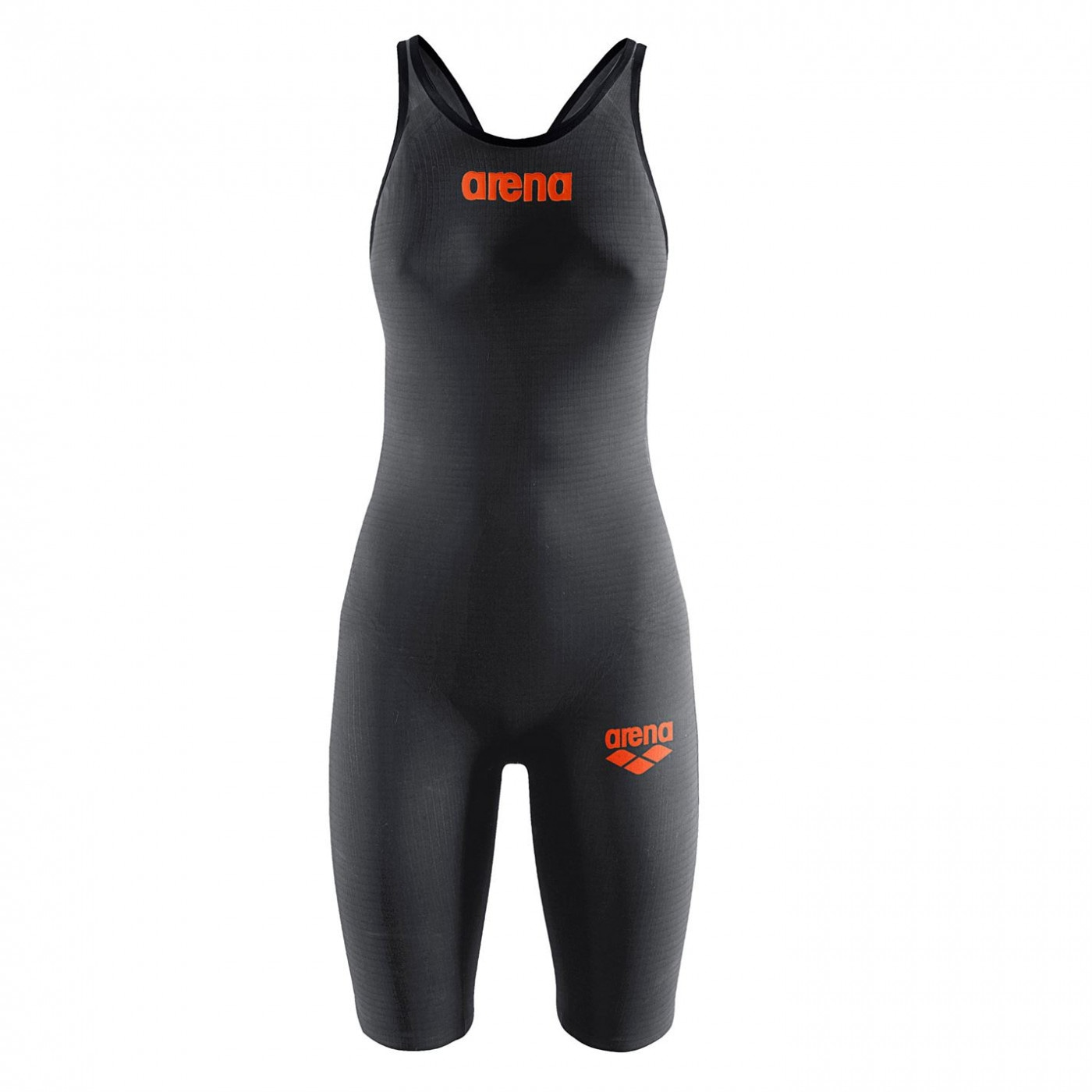 Arena Carbon Mark 2 Open Back Kneeskin Girls