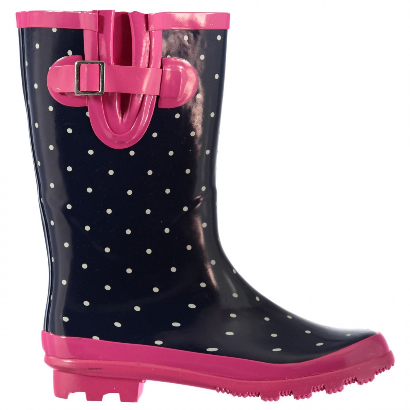 Rock and Rags Polka Dot Wellies Ladies