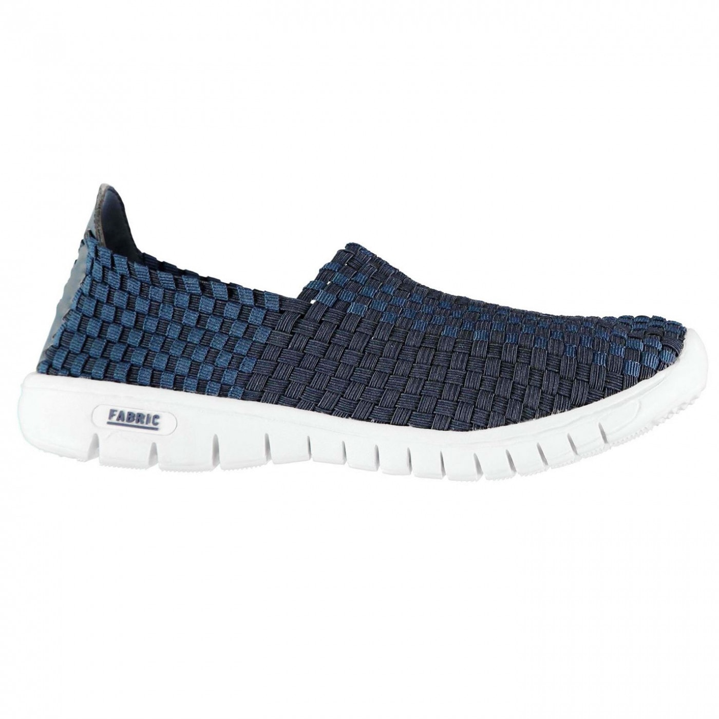 Fabric Flyer Mens Slip On Shoes