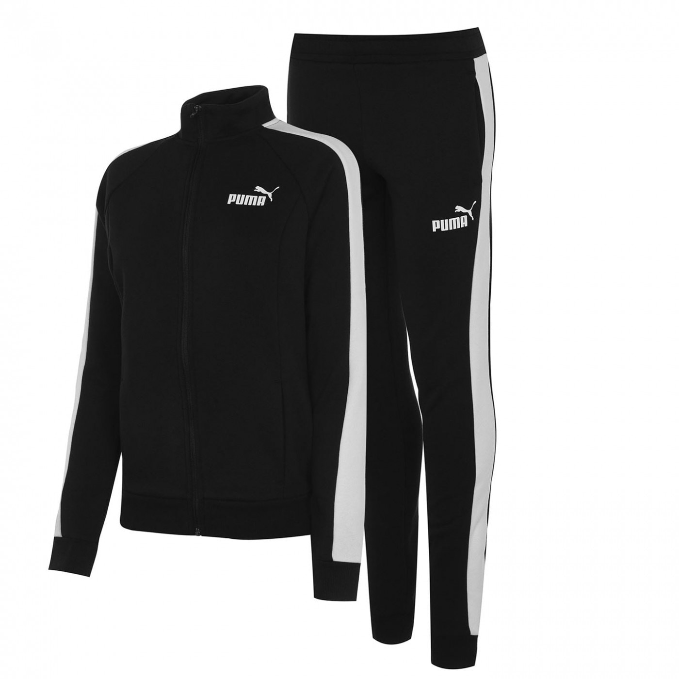 Puma Fleece Sweat Suit Womens