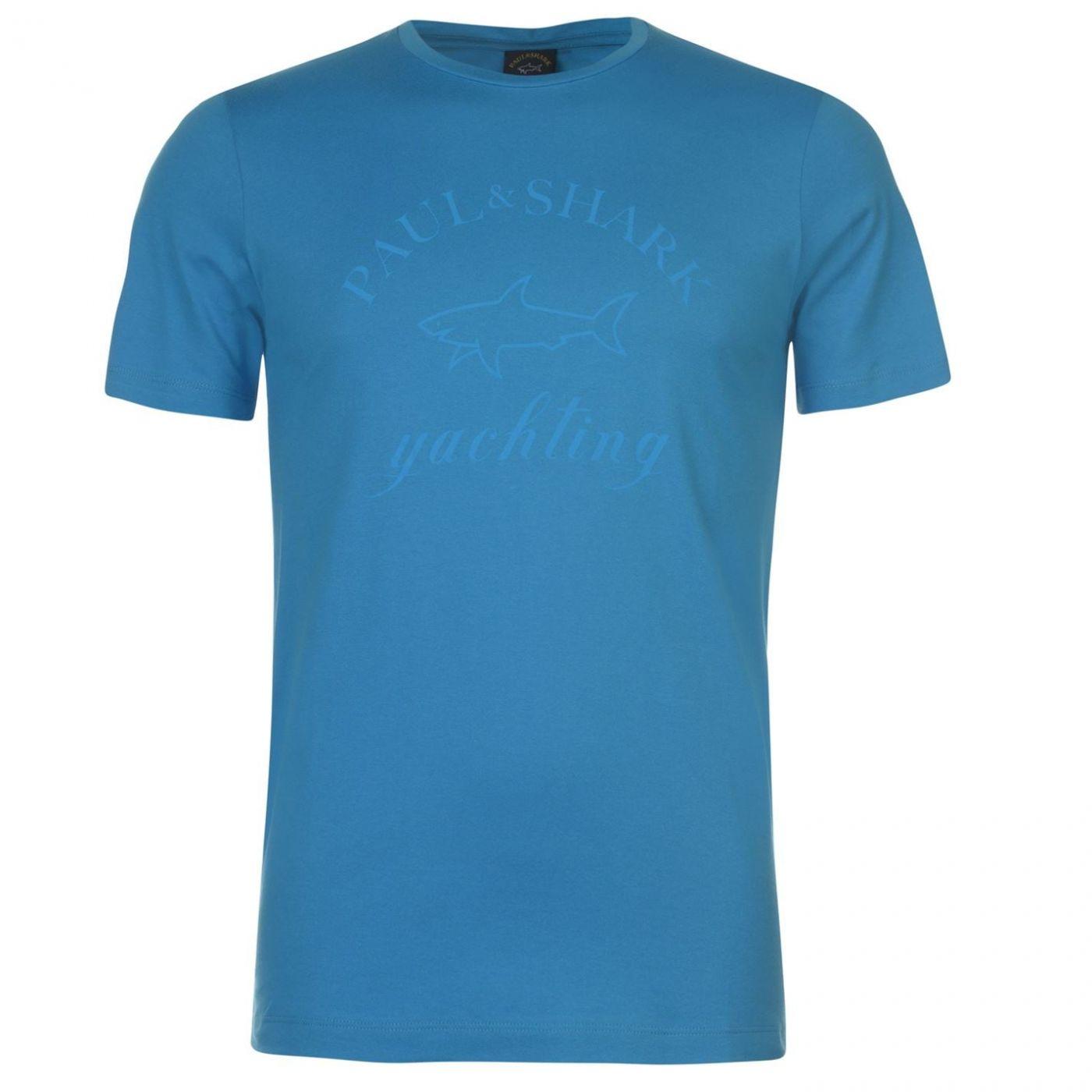 Paul And Shark Yacht Tonal Logo T Shirt
