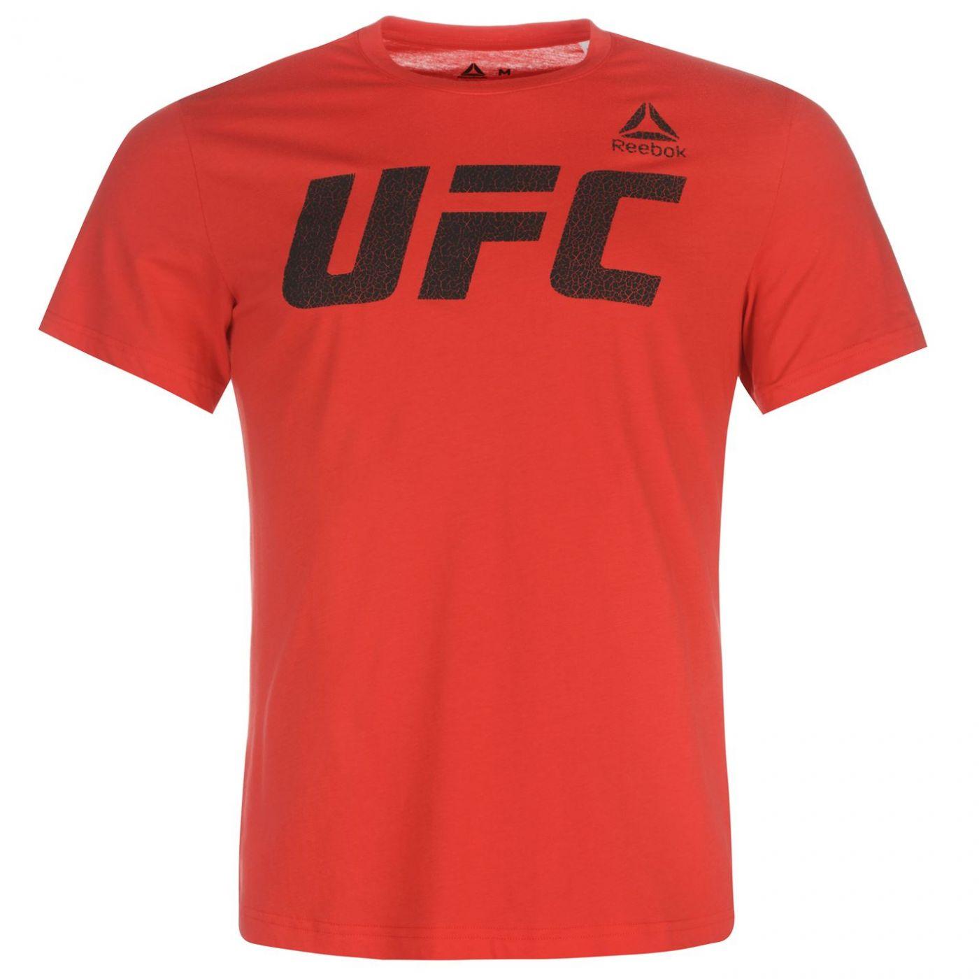 Reebok UFC T Shirt Mens