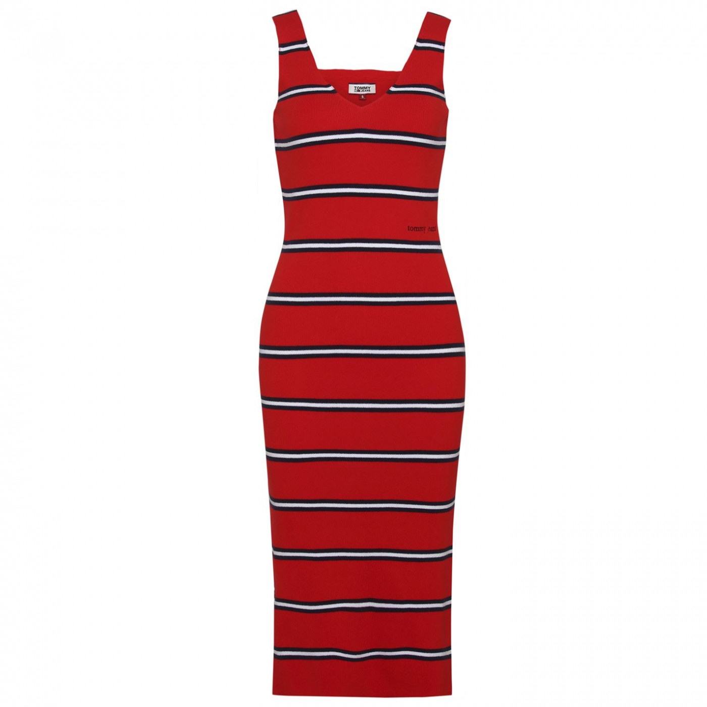 Tommy Jeans Knit Stripe Dress