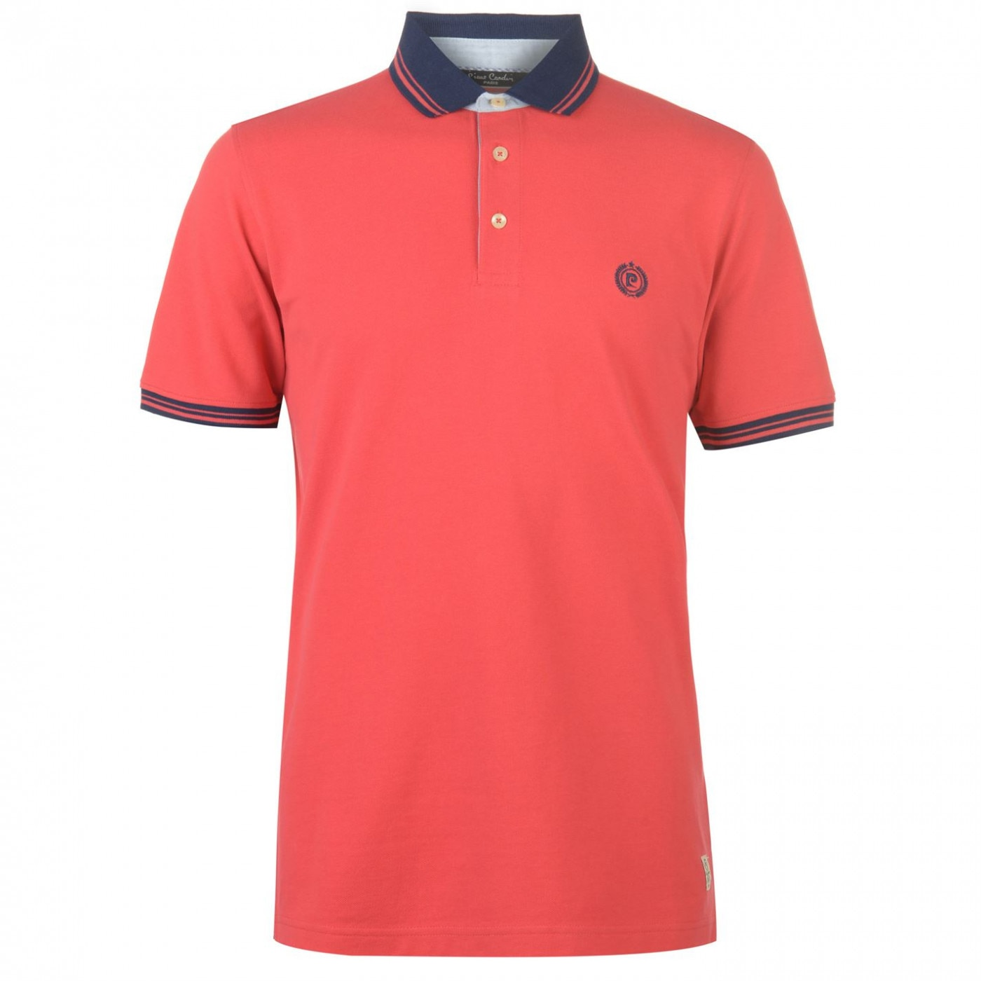 Pierre Cardin Pique Tipped Polo Mens