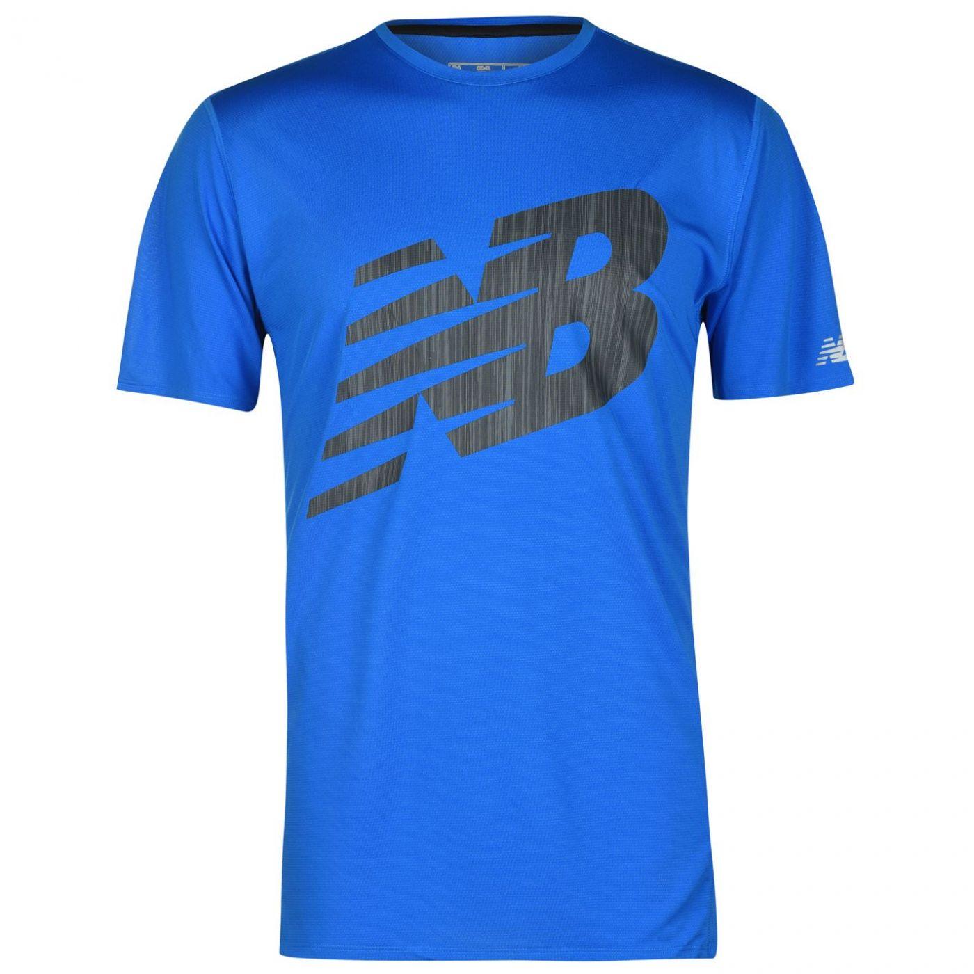 New Balance Short Sleeve T Shirt Mens