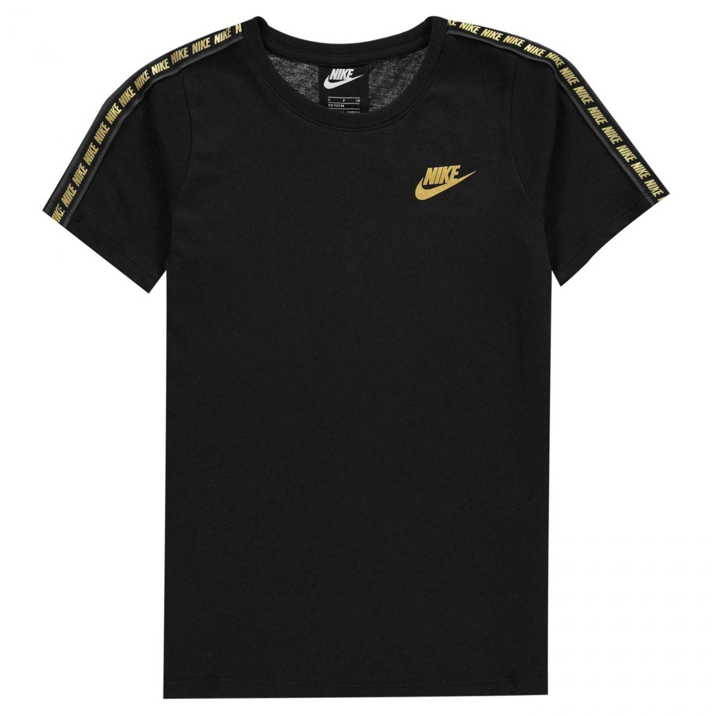 Nike Repeat Short Sleeve T Shirt Junior Boys