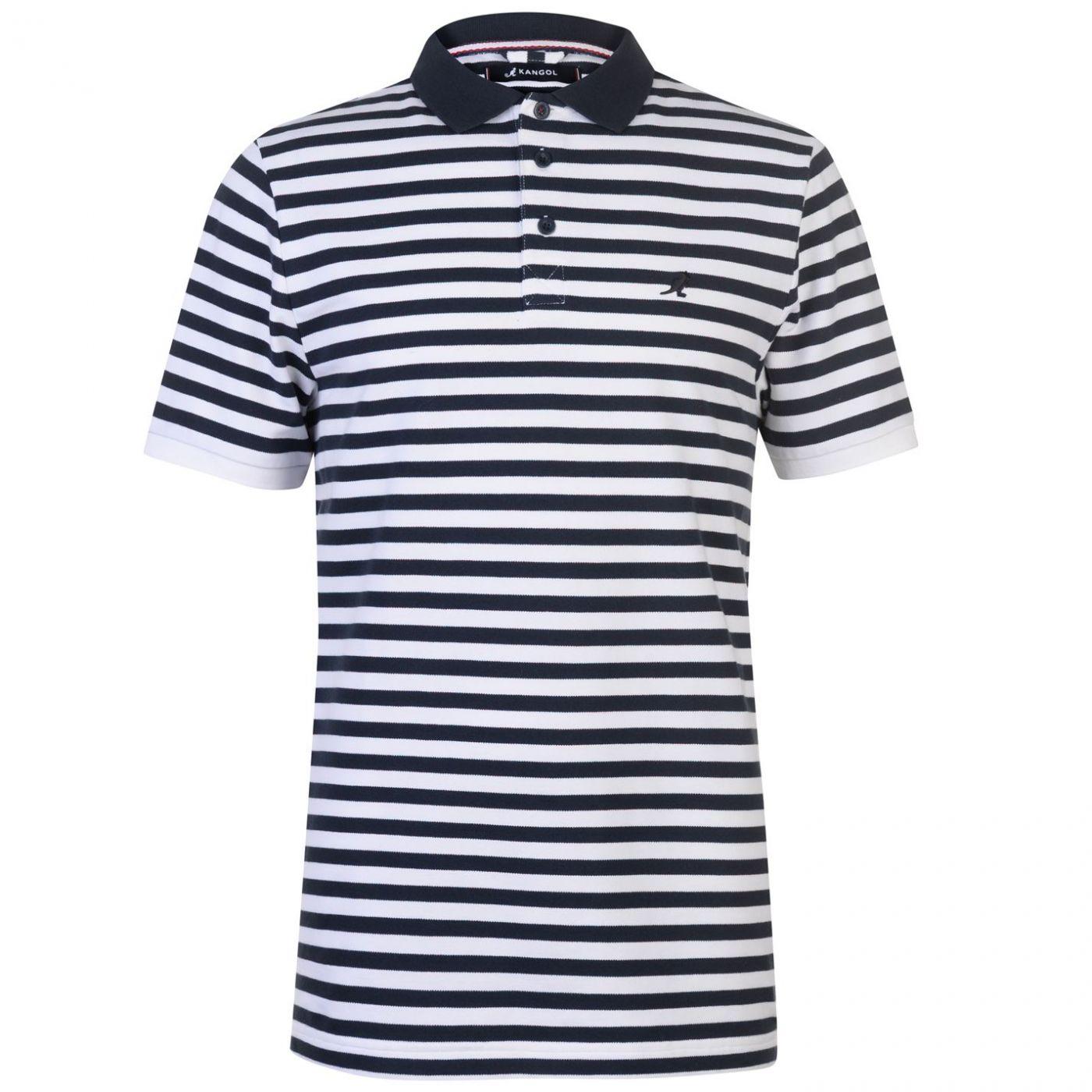 Kangol Slim Fit Polo Shirt Mens