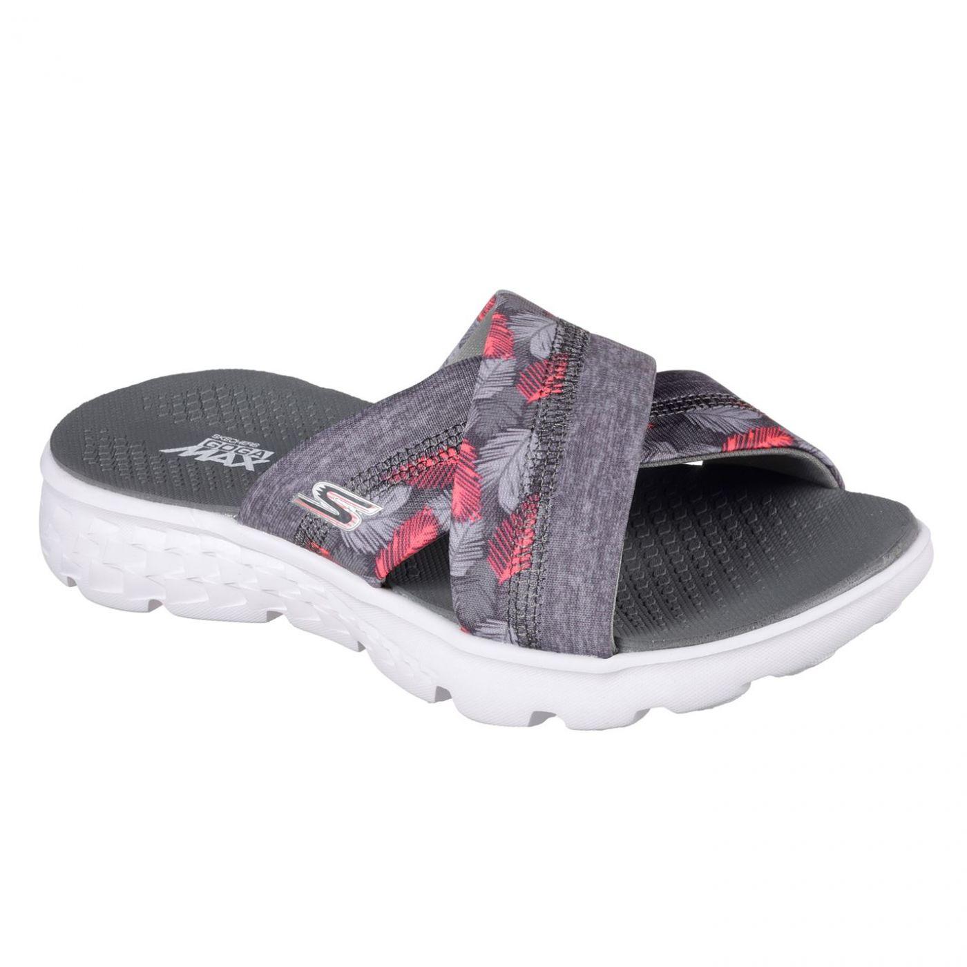 Skechers On The Go Tropical Flip Flops Ladies