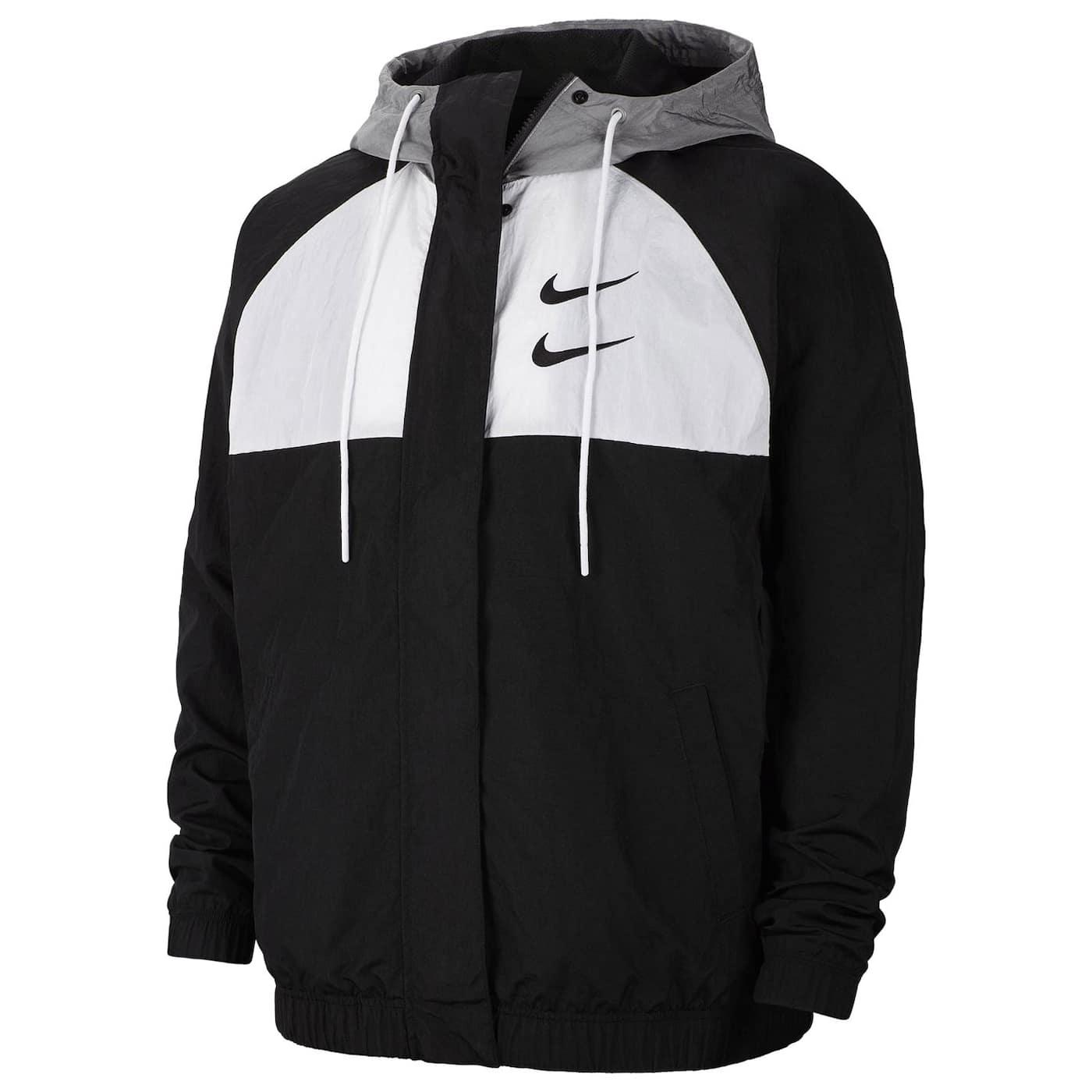 Nike Sportswear Swoosh Woven Hooded Jacket Mens