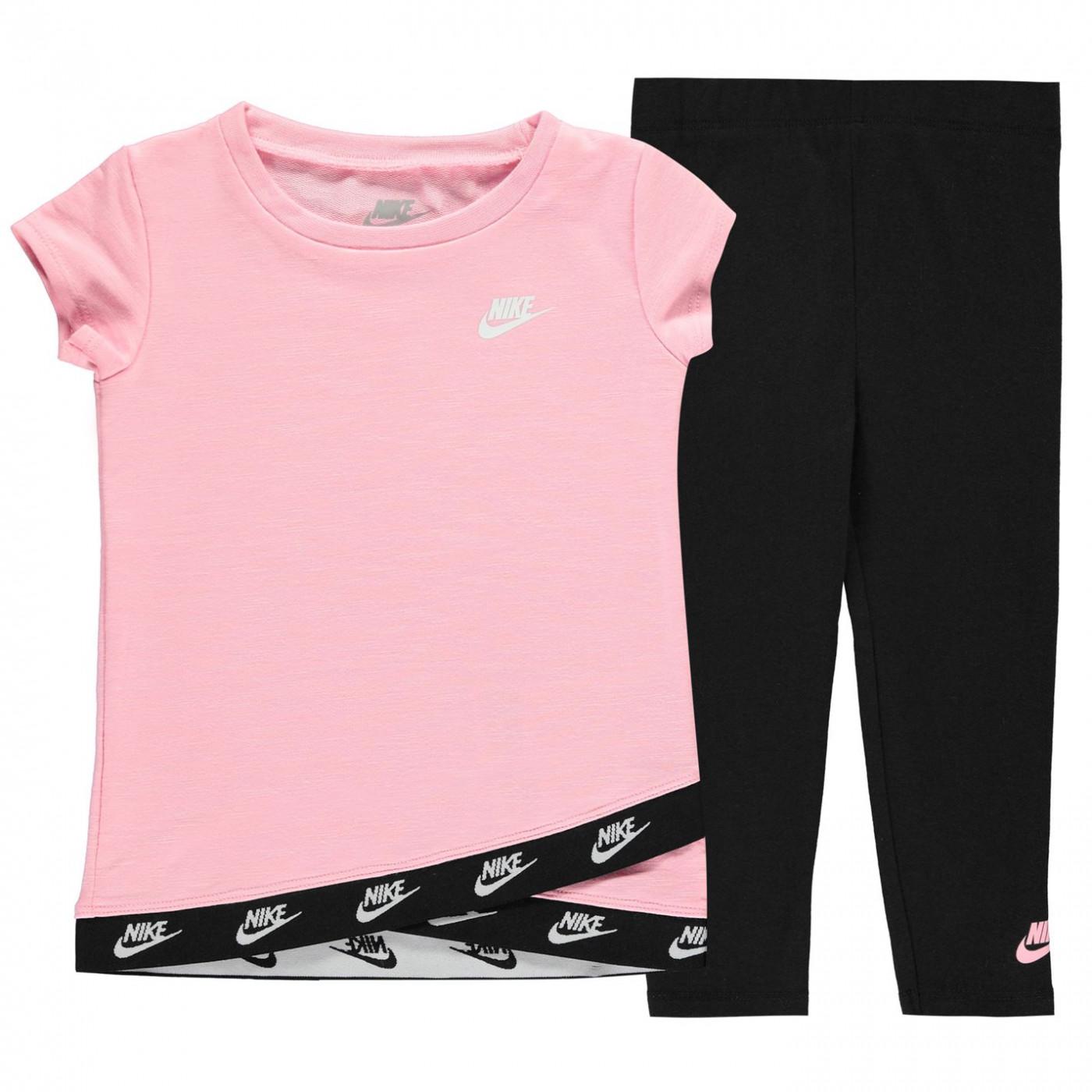 Nike Leggings and Top Set Baby Girls