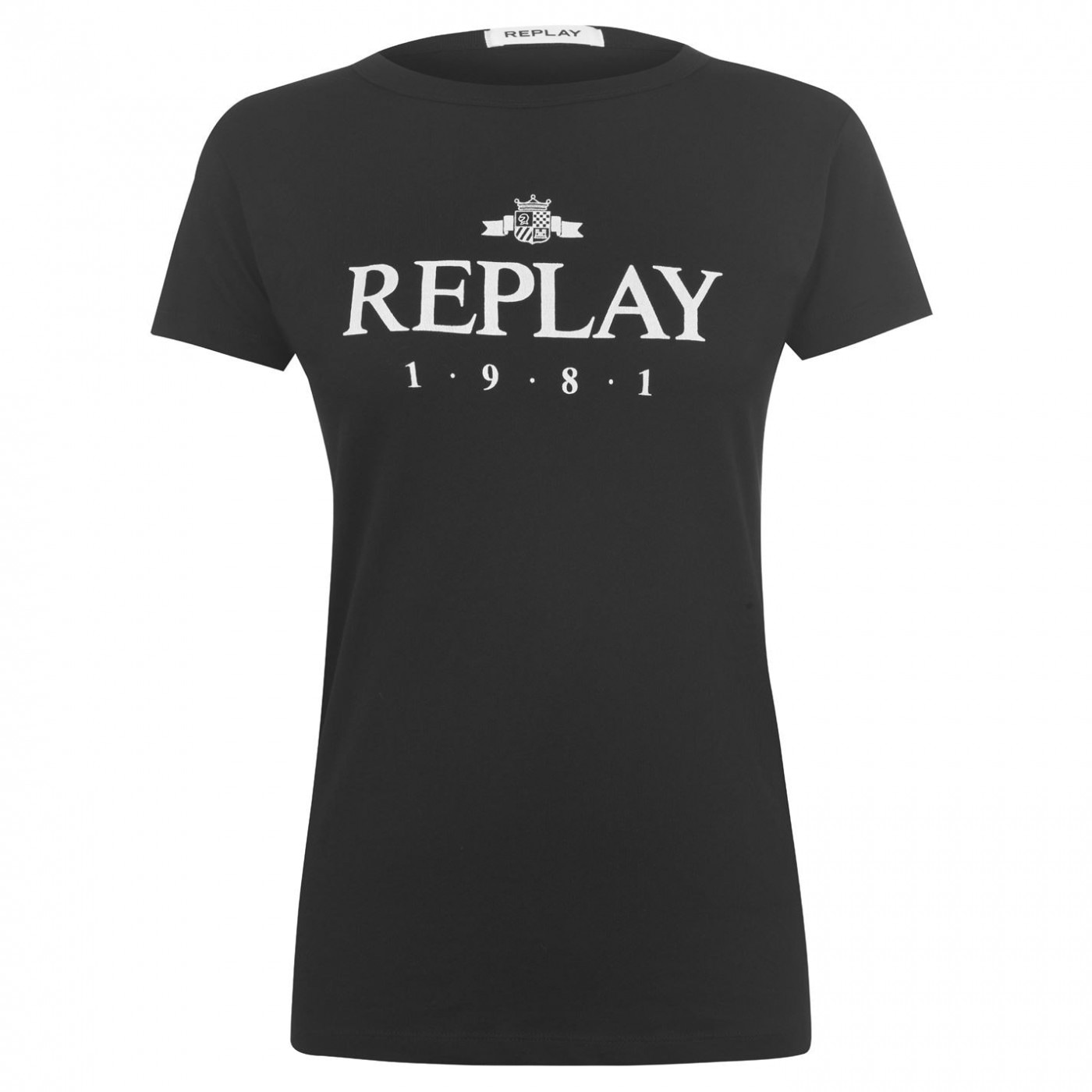 Replay 1981 Logo T Shirt