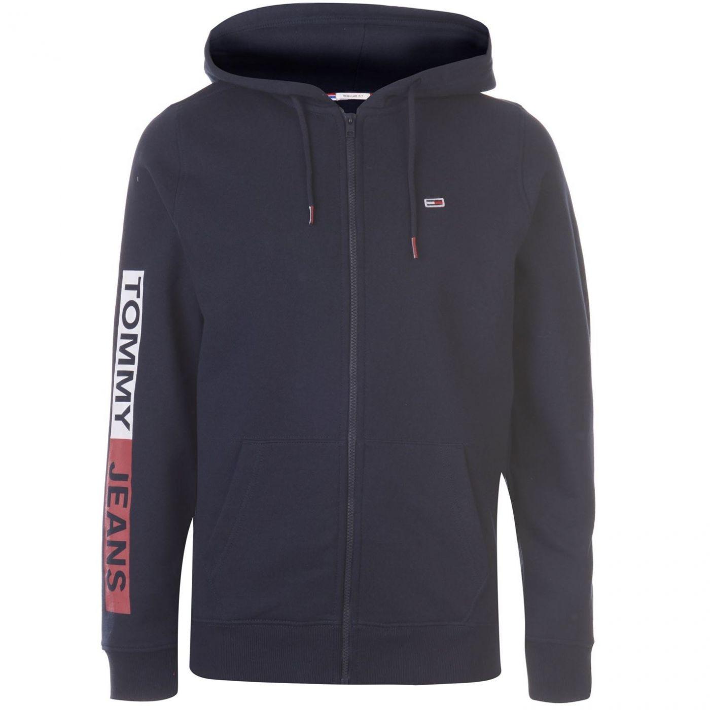 Tommy Jeans Essentials Graphic Zip Hoodie