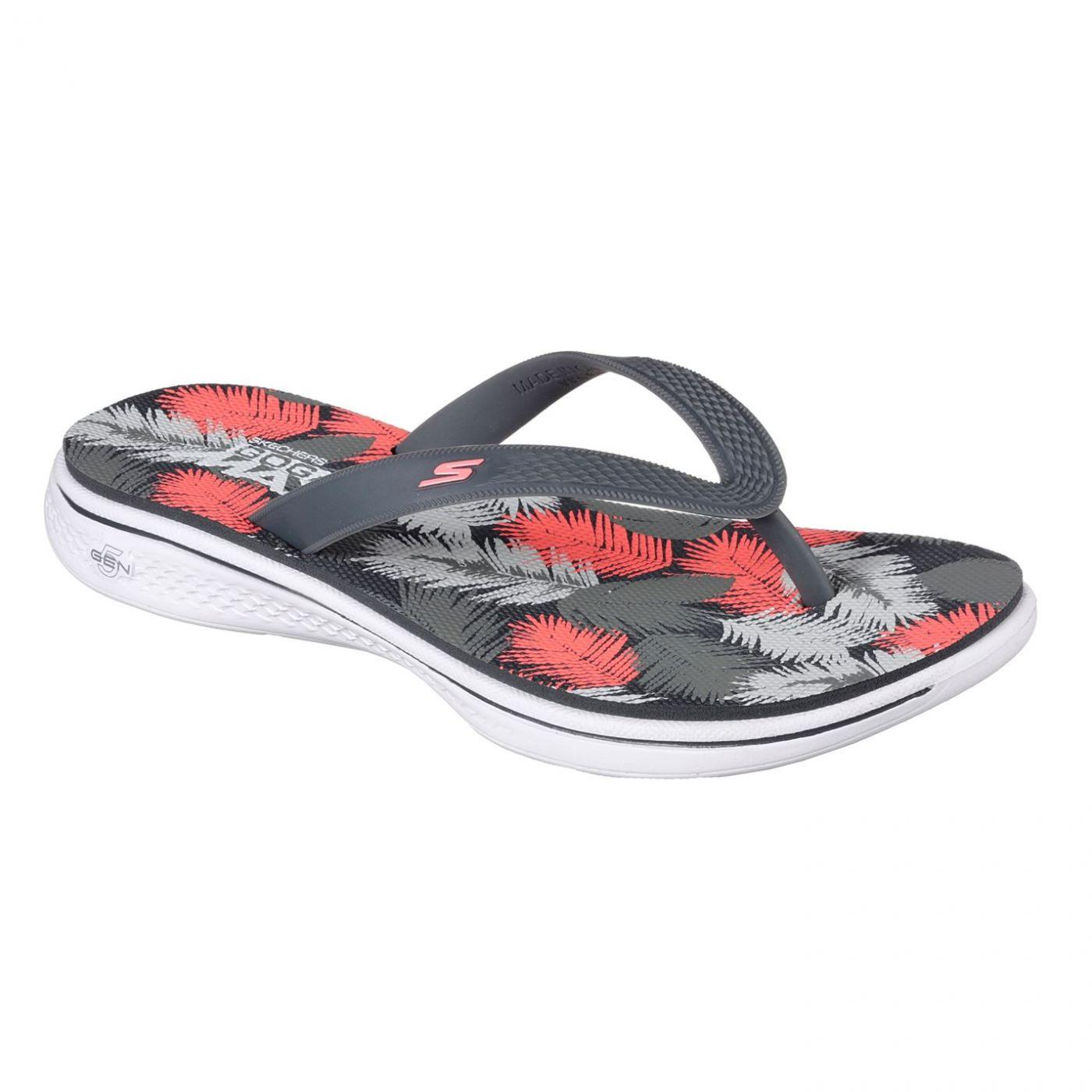 Skechers H2 Goga Lagoon Flip Flops Ladies