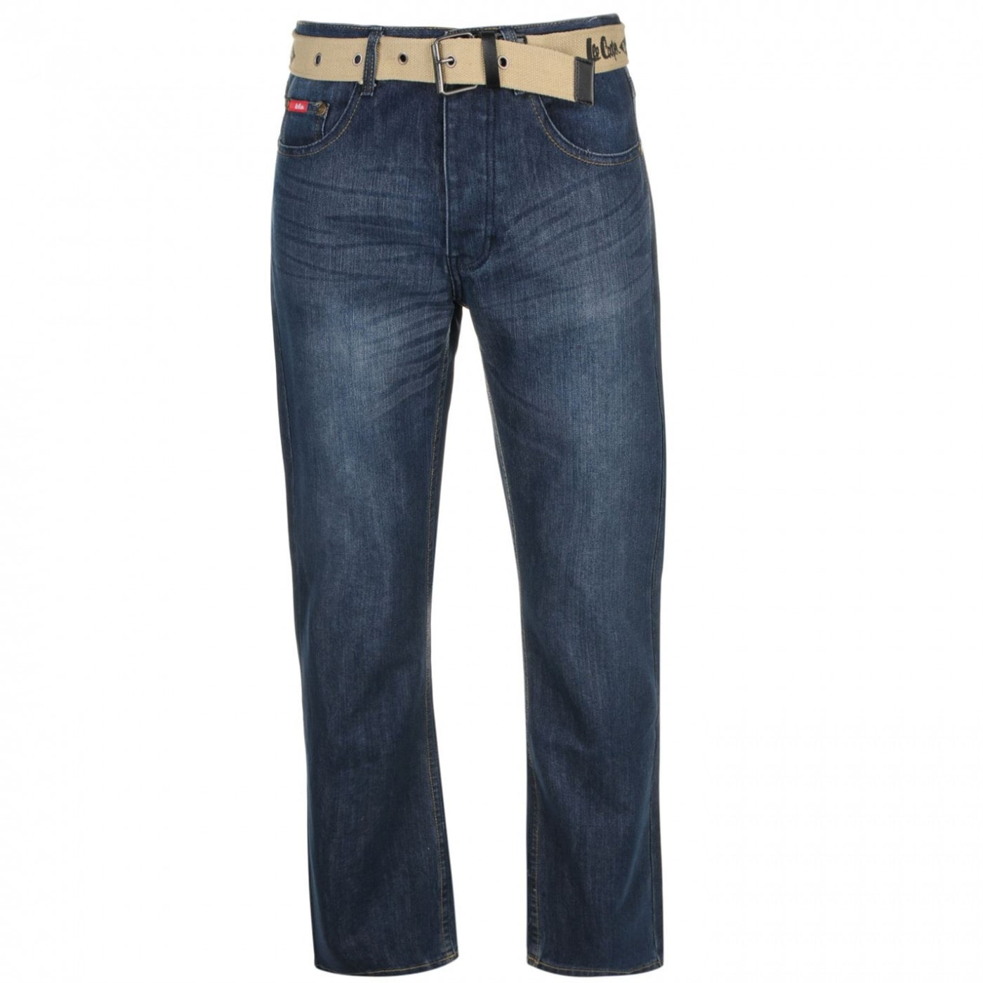 Men's jeans Lee Cooper Belted