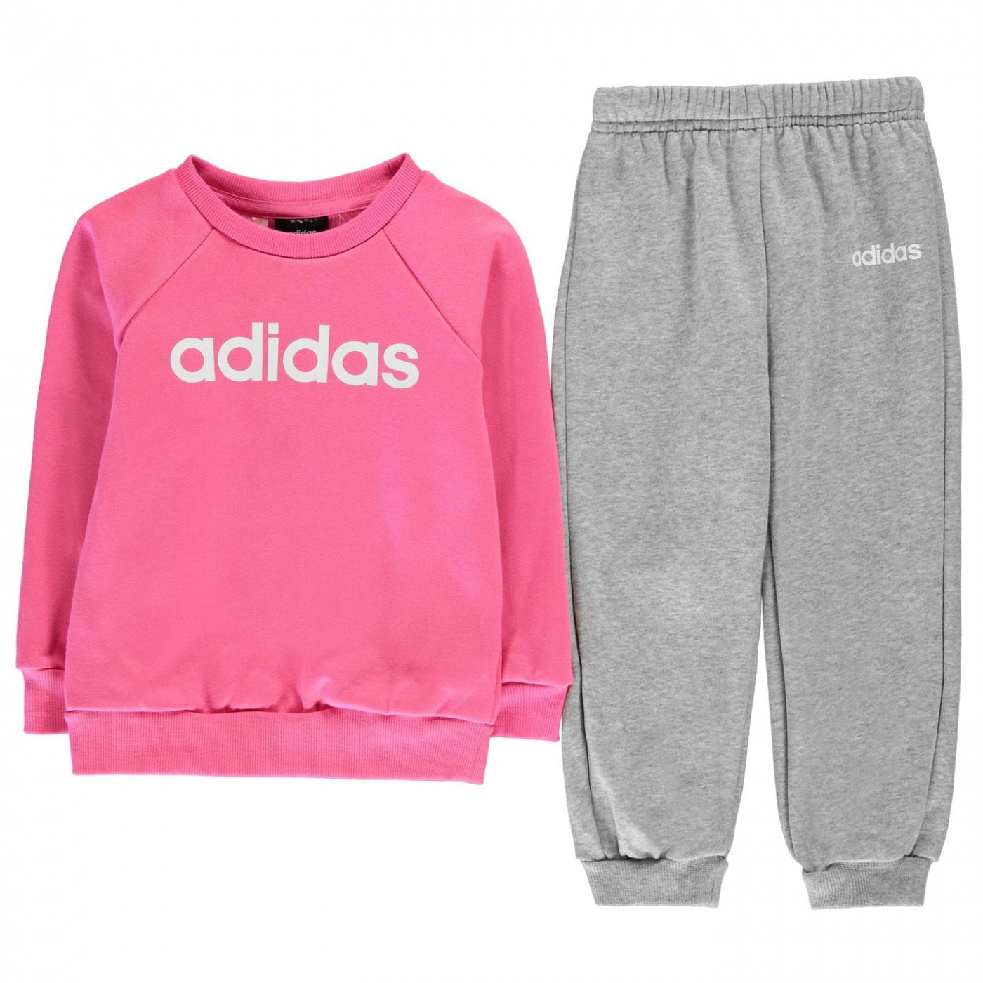 Adidas Jumper and Joggers Set Infant Girls