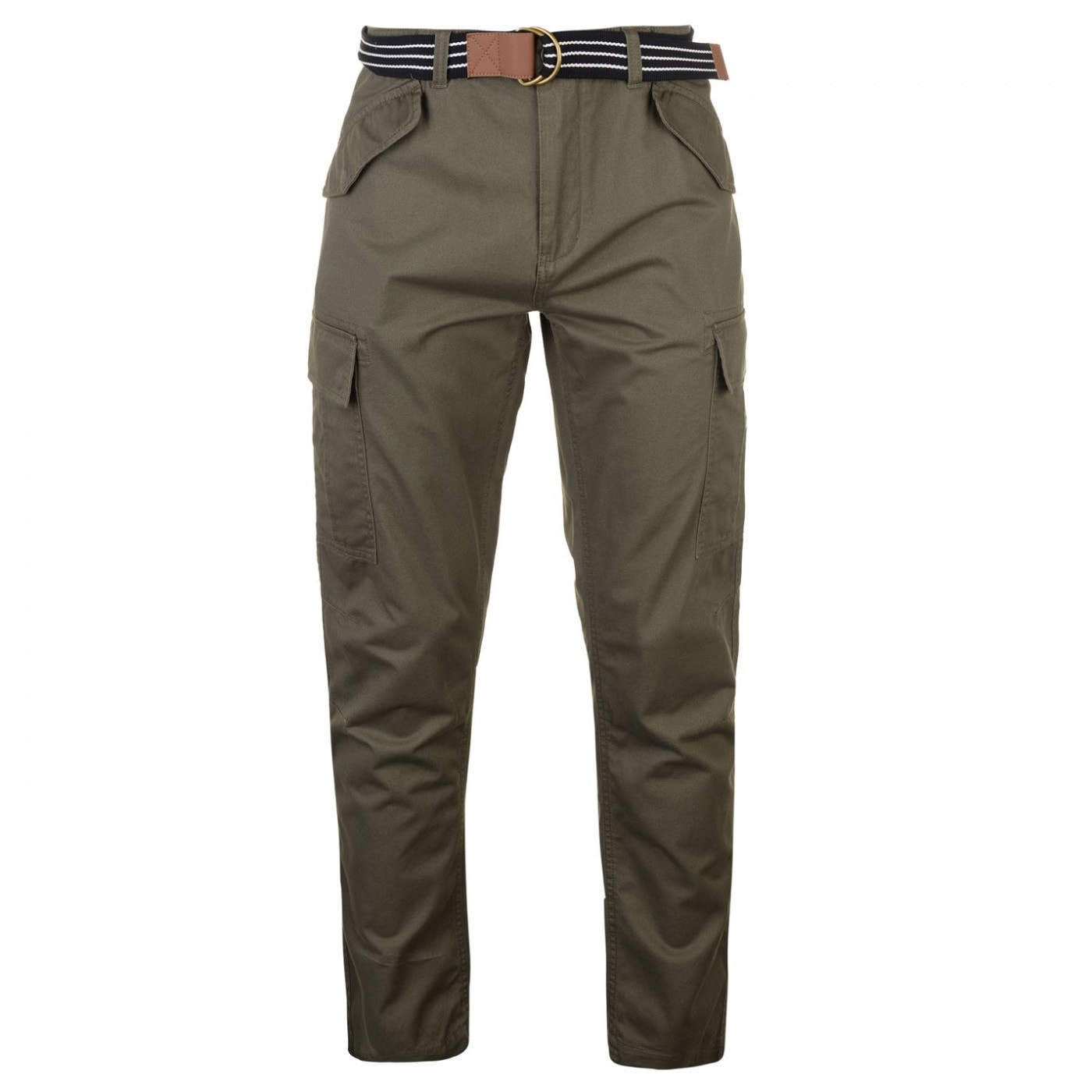 4611e0bb76b4 Pierre Cardin Belted Cargo Trousers Mens - FACTCOOL