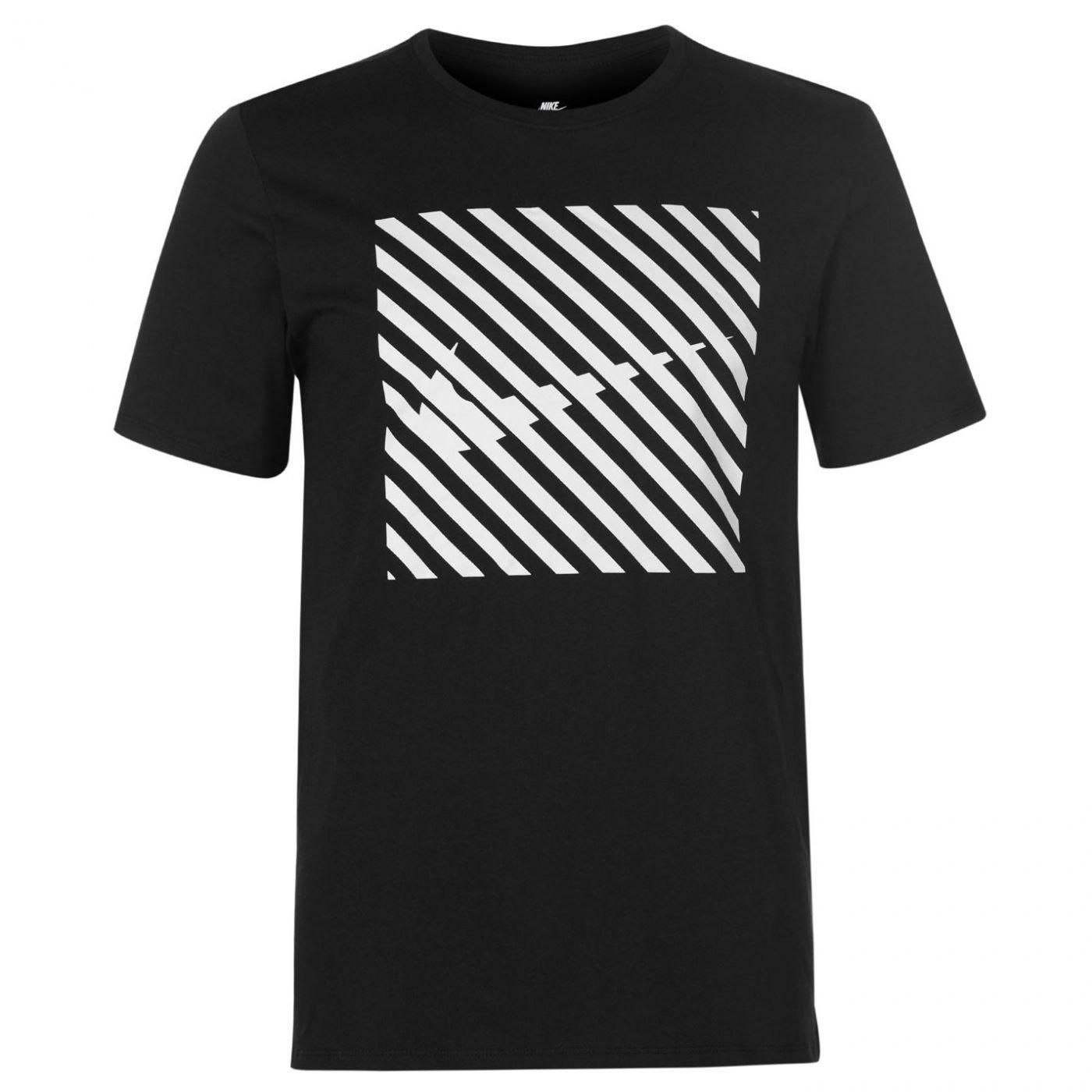 Nike Swoosh Thru Graphic T Shirt Mens