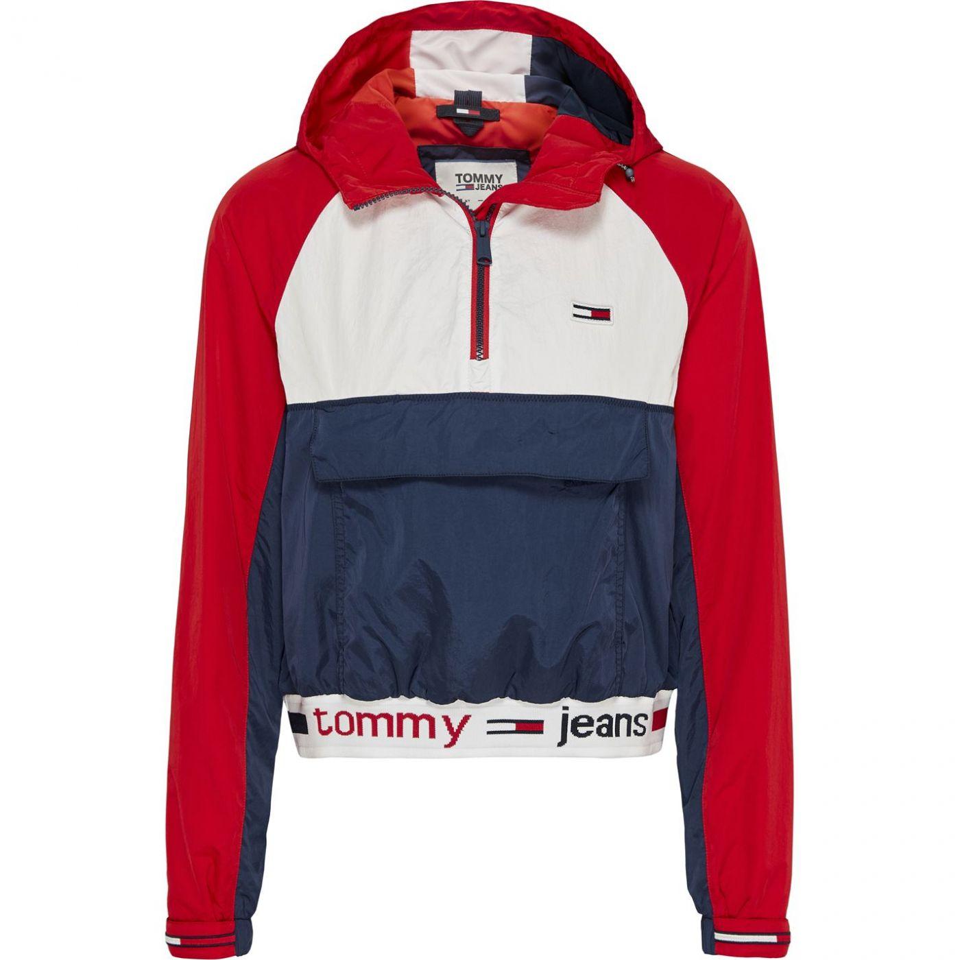 Tommy Jeans Tape Hem Popover