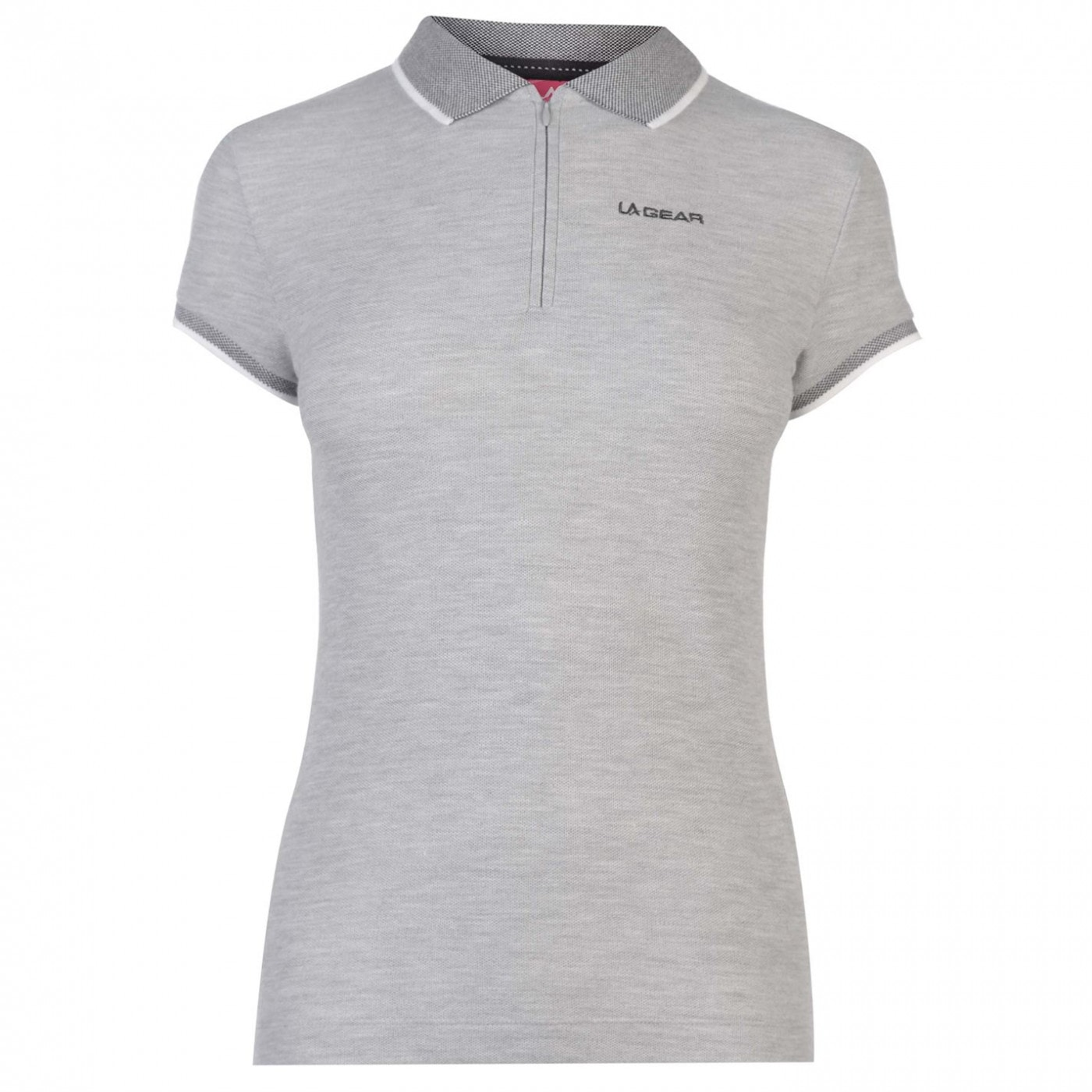 LA Gear Tipped Polo Shirt Ladies