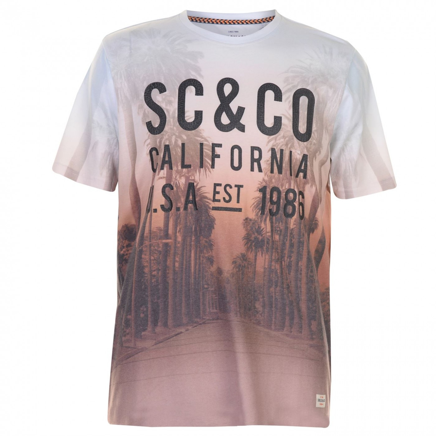 SoulCal Sublime T Shirt Mens