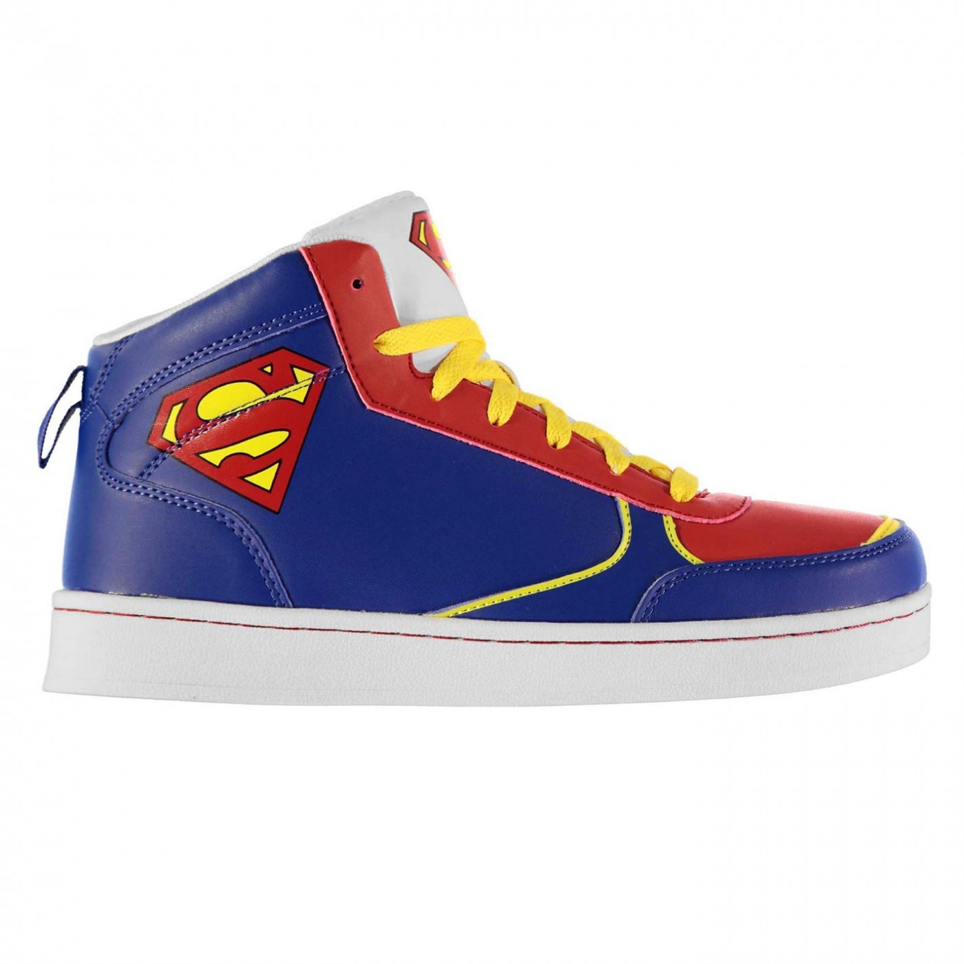 DC Comics Superman Hi Top Junior Trainers