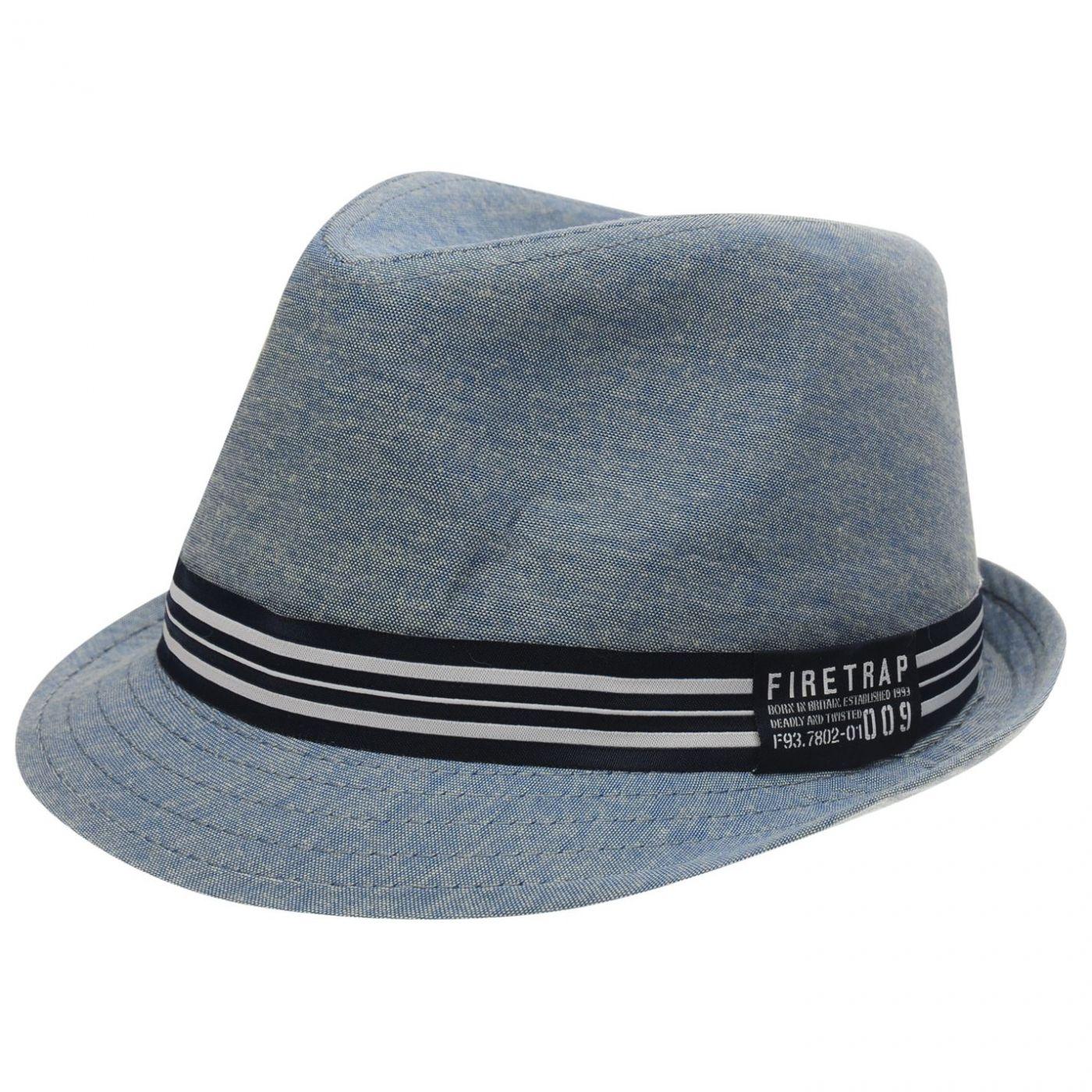 Firetrap Trilby Hat Junior Boys