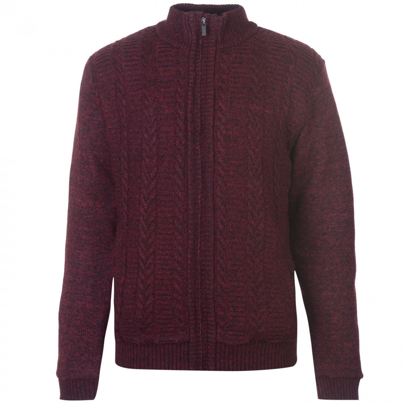 Lee Cooper Funnel ZT Lined Knit Mens