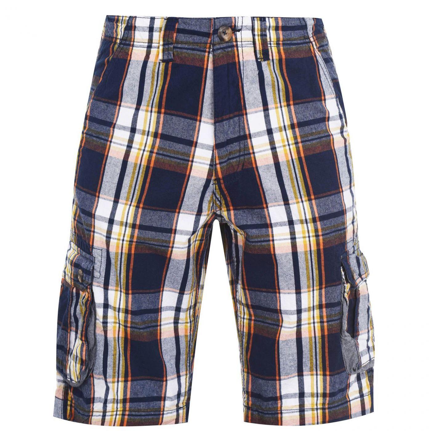 SoulCal Check Cargo Shorts Mens