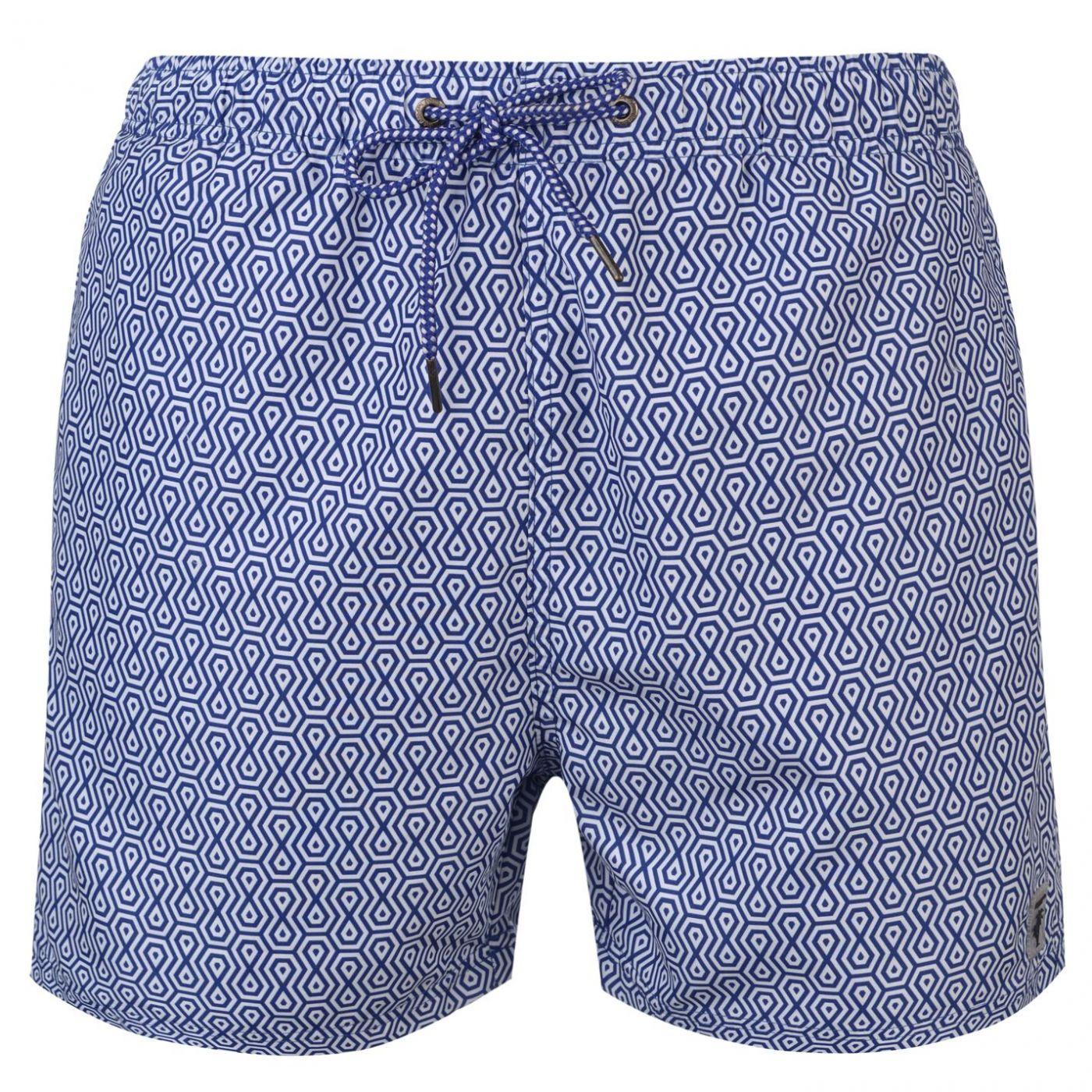 Pierre Cardin Geo Swim Shorts Mens