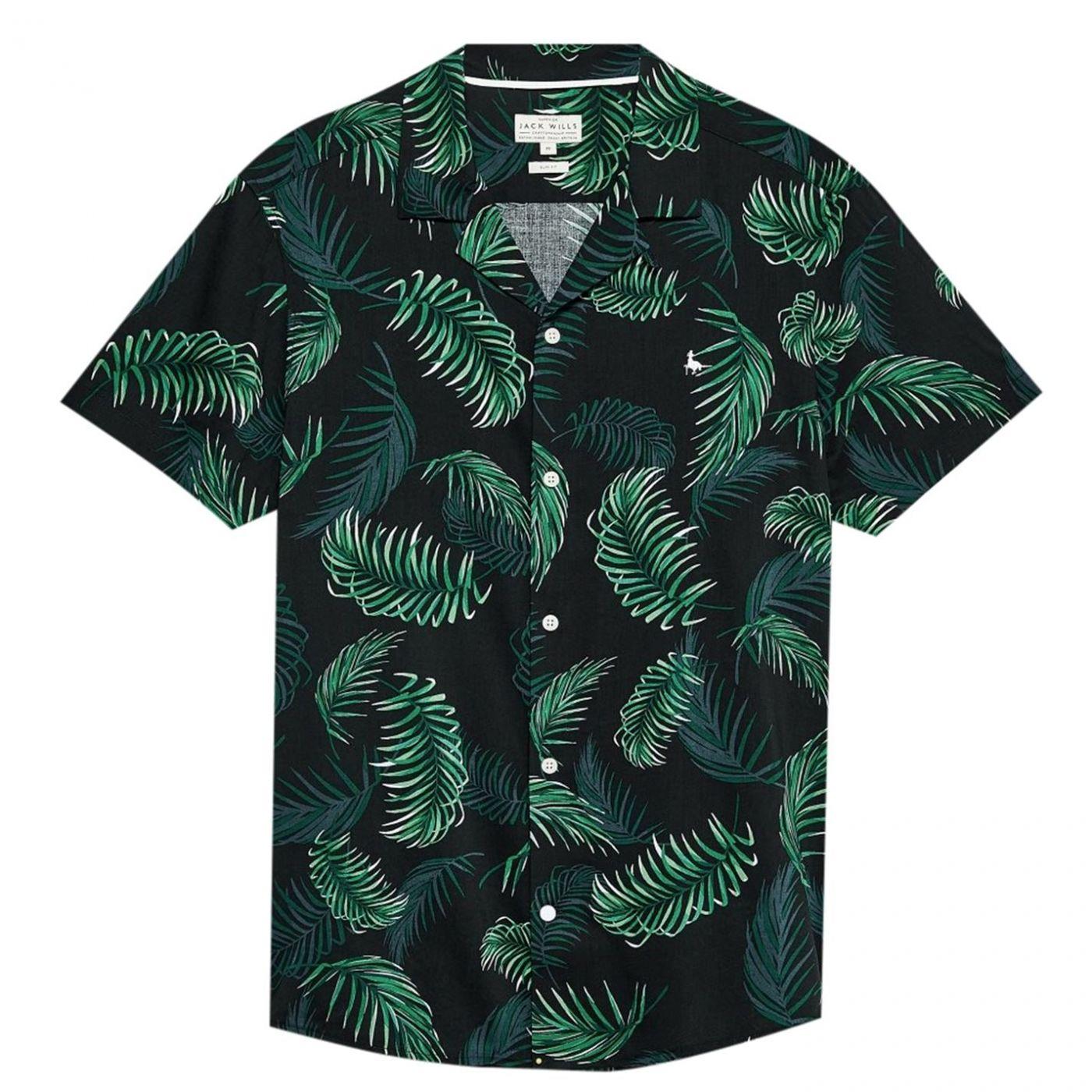 Jack Wills Abbotsham All Over Print Shirt