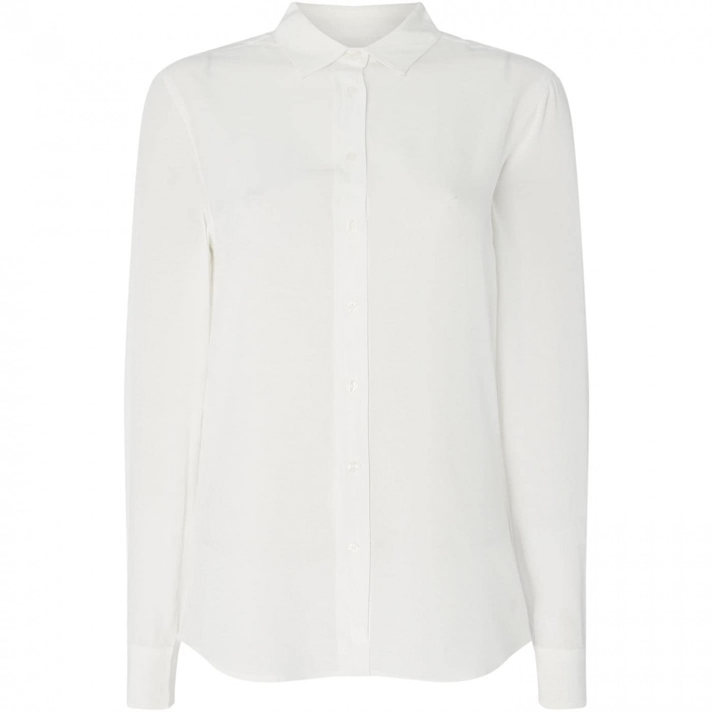 Gant Long Sleeve Crepe Shirt