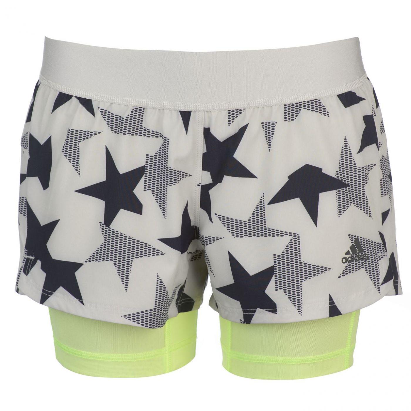 Adidas Iteration 2 In 1 Shorts Ladies
