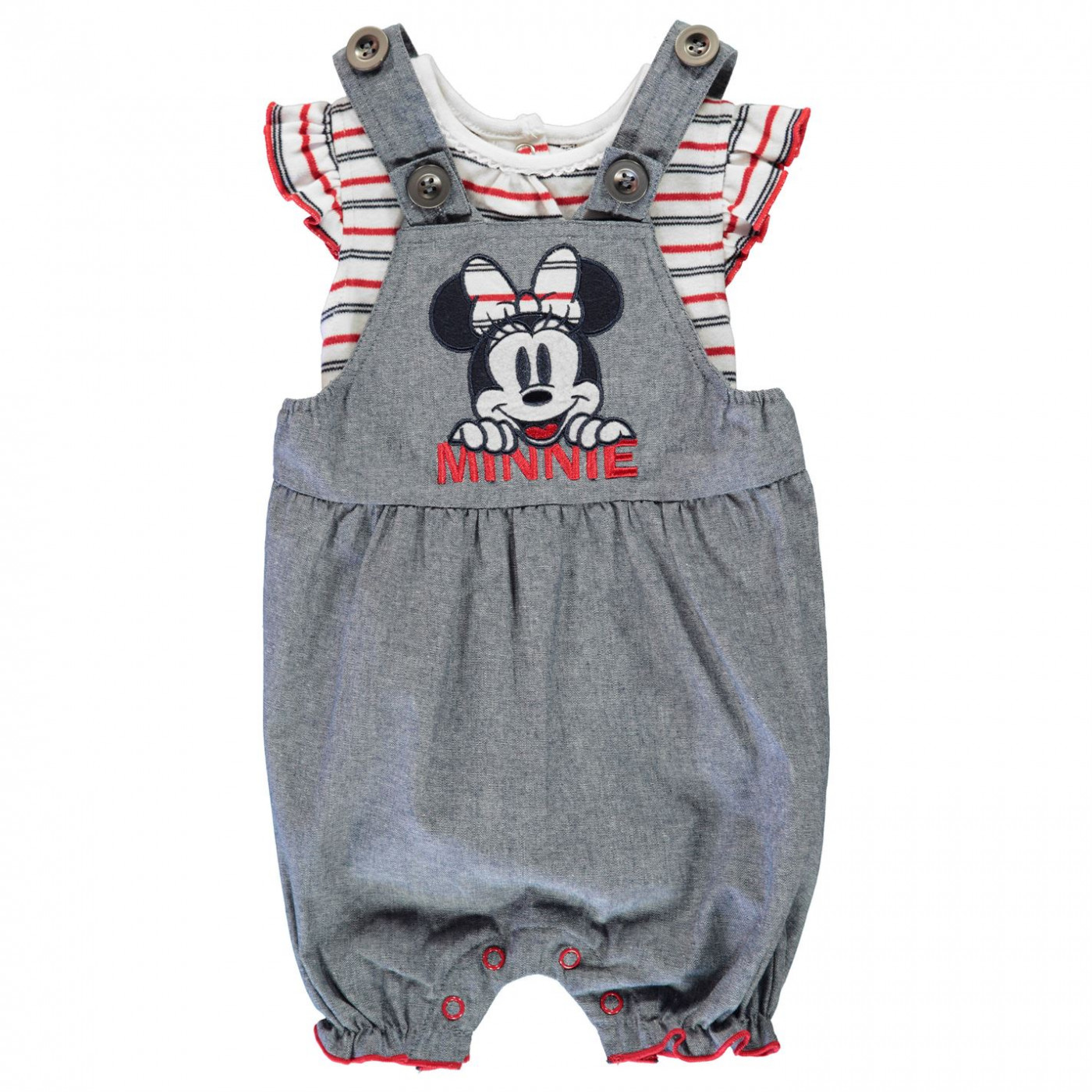 Disney 2 Piece Dungaree Set Baby
