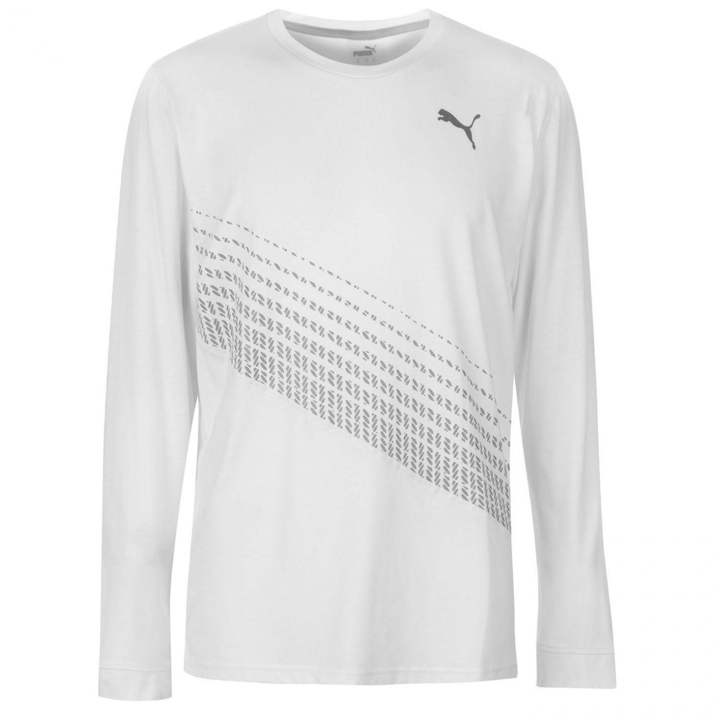 Puma Desert Long Sleeve T Shirt Mens