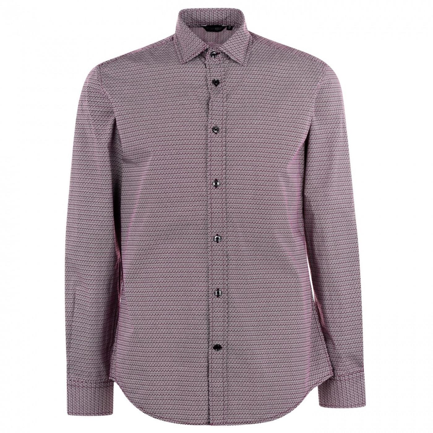 Antony Morato Long Sleeve Patterned Shirt