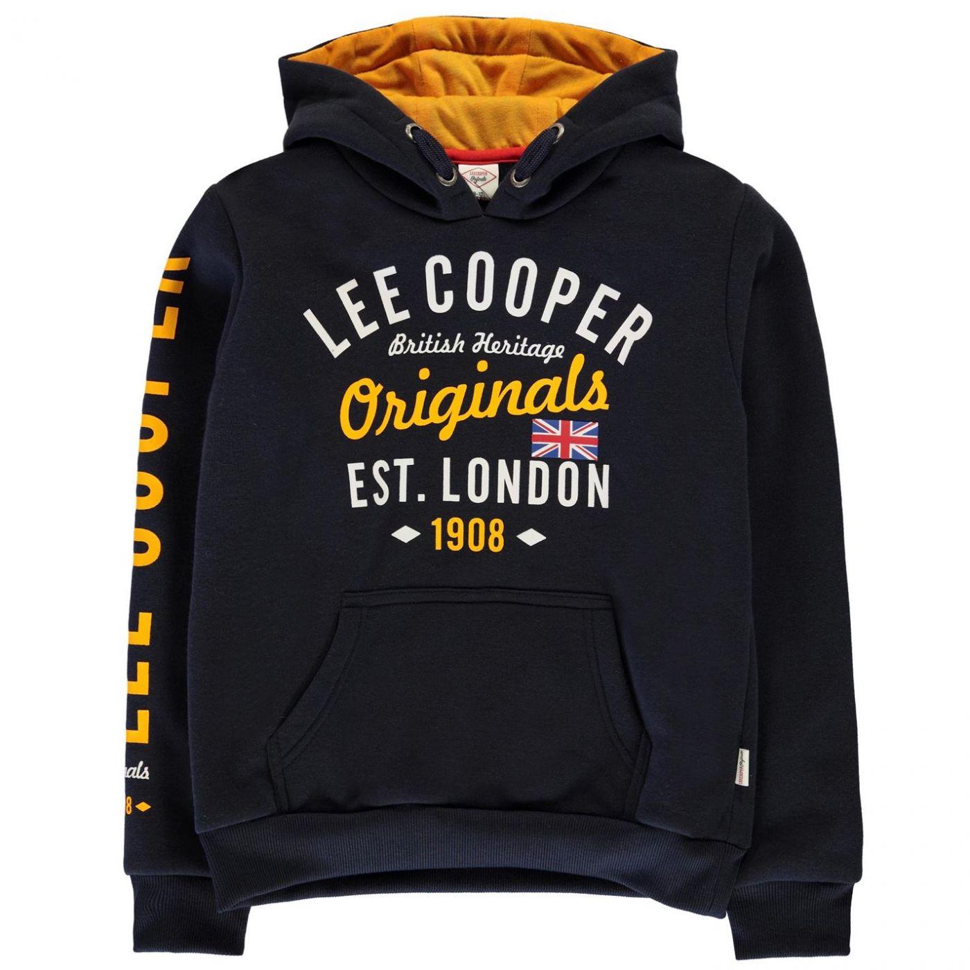 Lee Cooper London OTH Hoodie Junior Boys