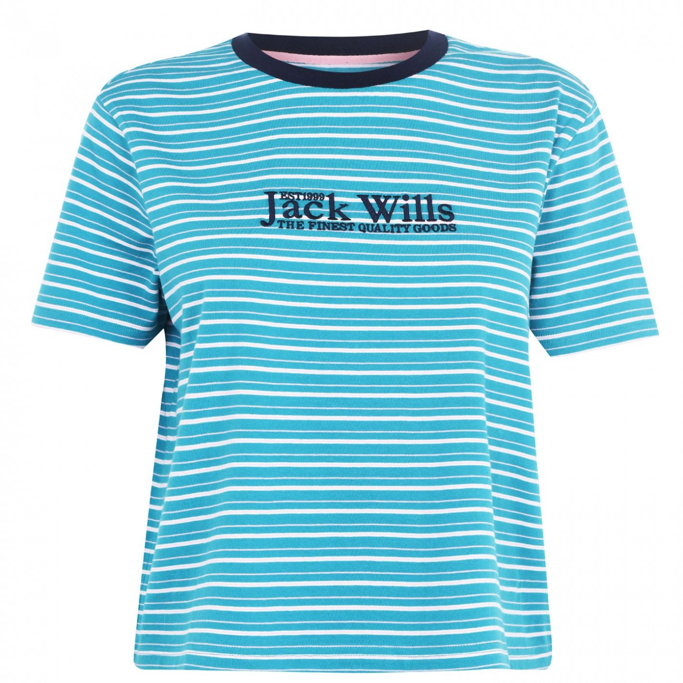 Jack Wills Milsom Boxy Tee Ld00