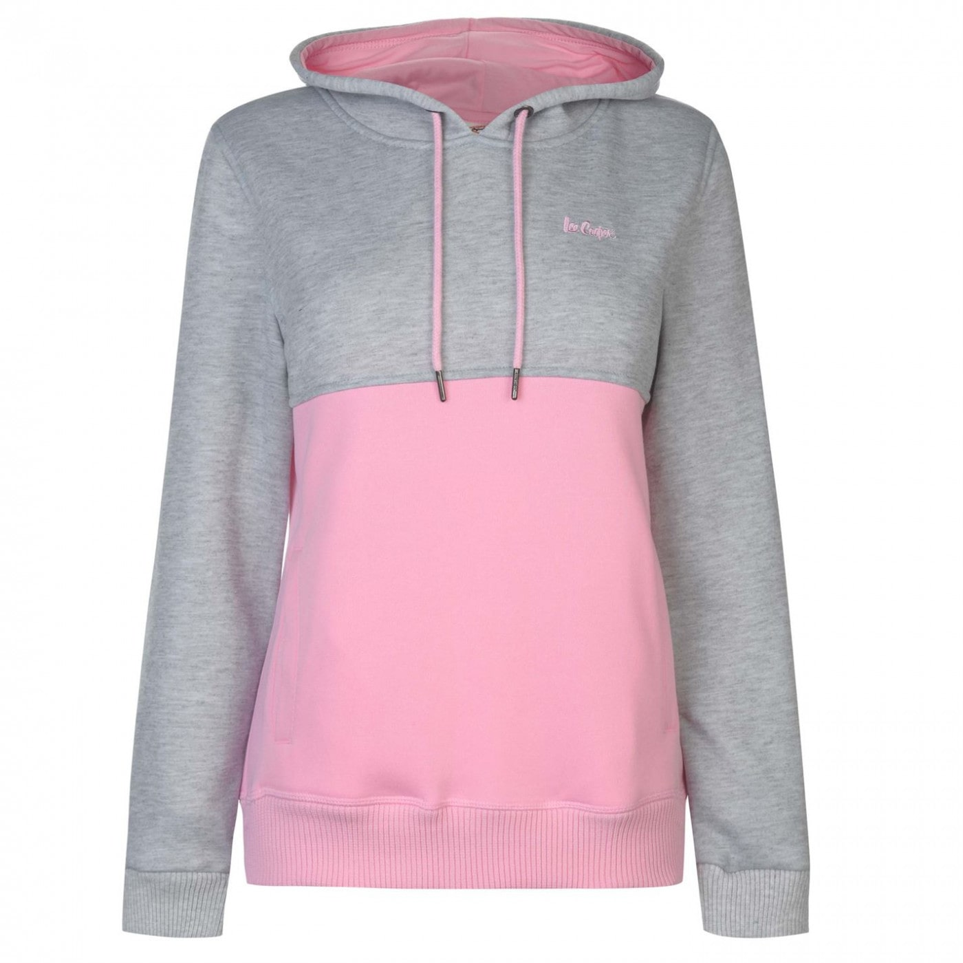 Lee Cooper Cut and Sew OTH Hoodie Ladies