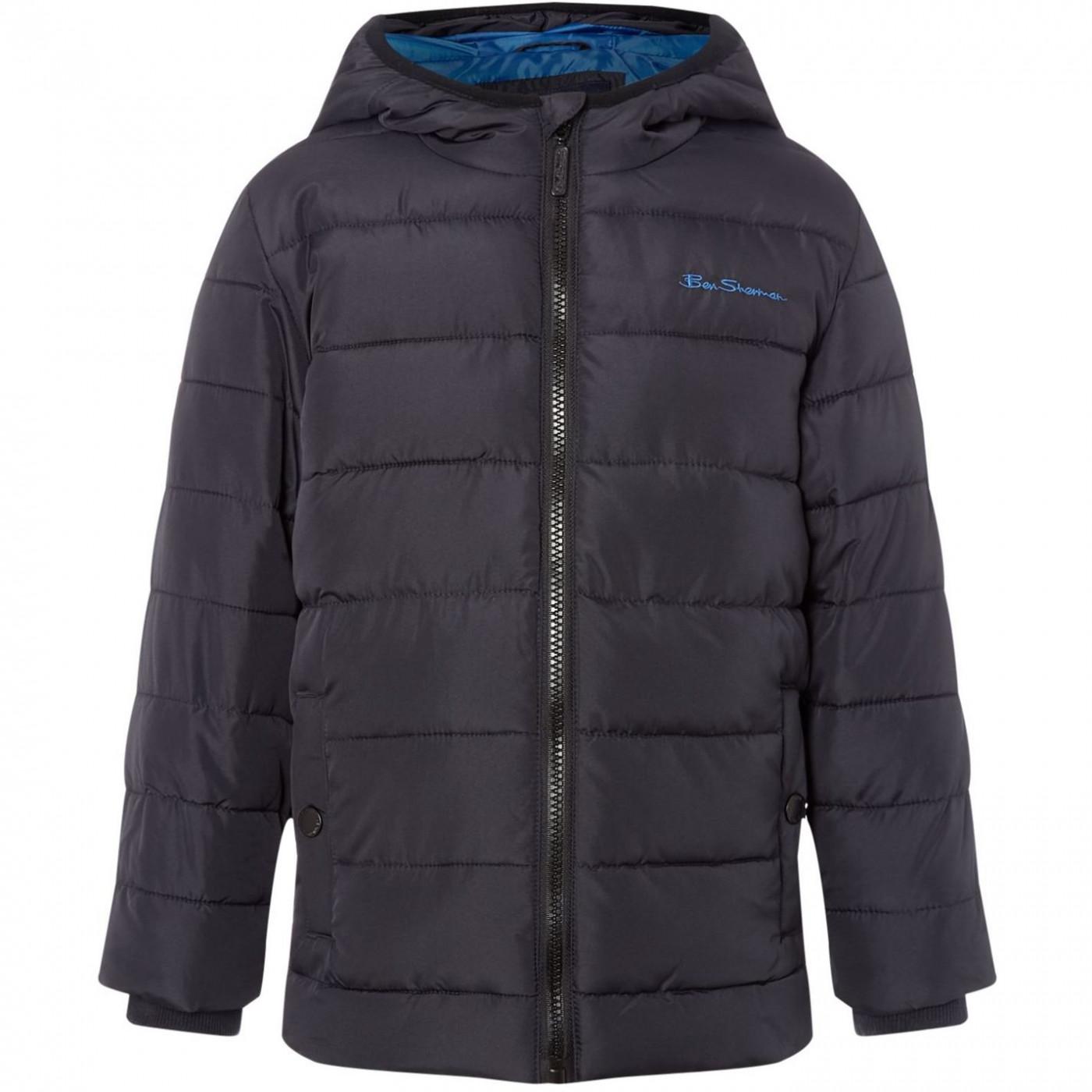 Ben Sherman Padded Hooded Jacket