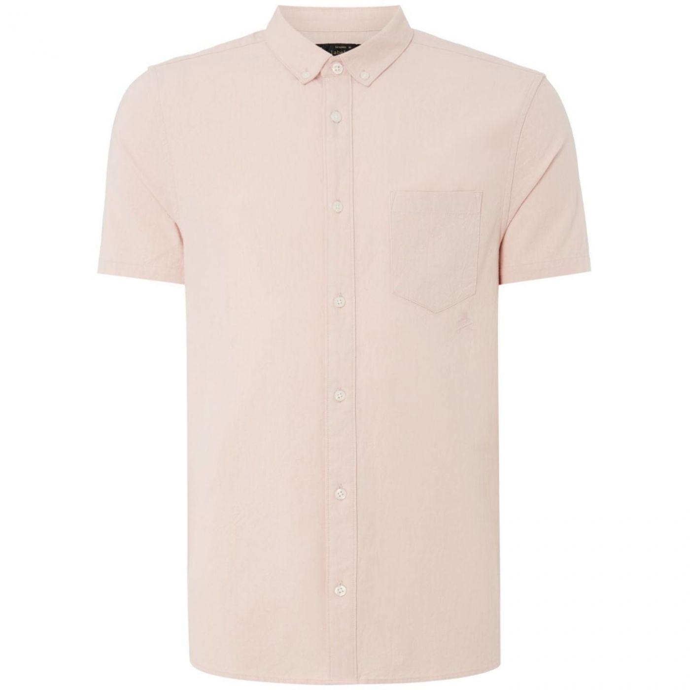 Label Lab Caden Crinkle Textured Short Sleeve Shirt