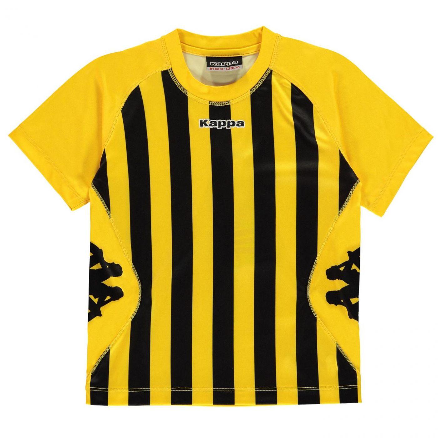 bda3992b1b628 Kappa Barletta Short Sleeve T Shirt Junior Boys - FACTCOOL