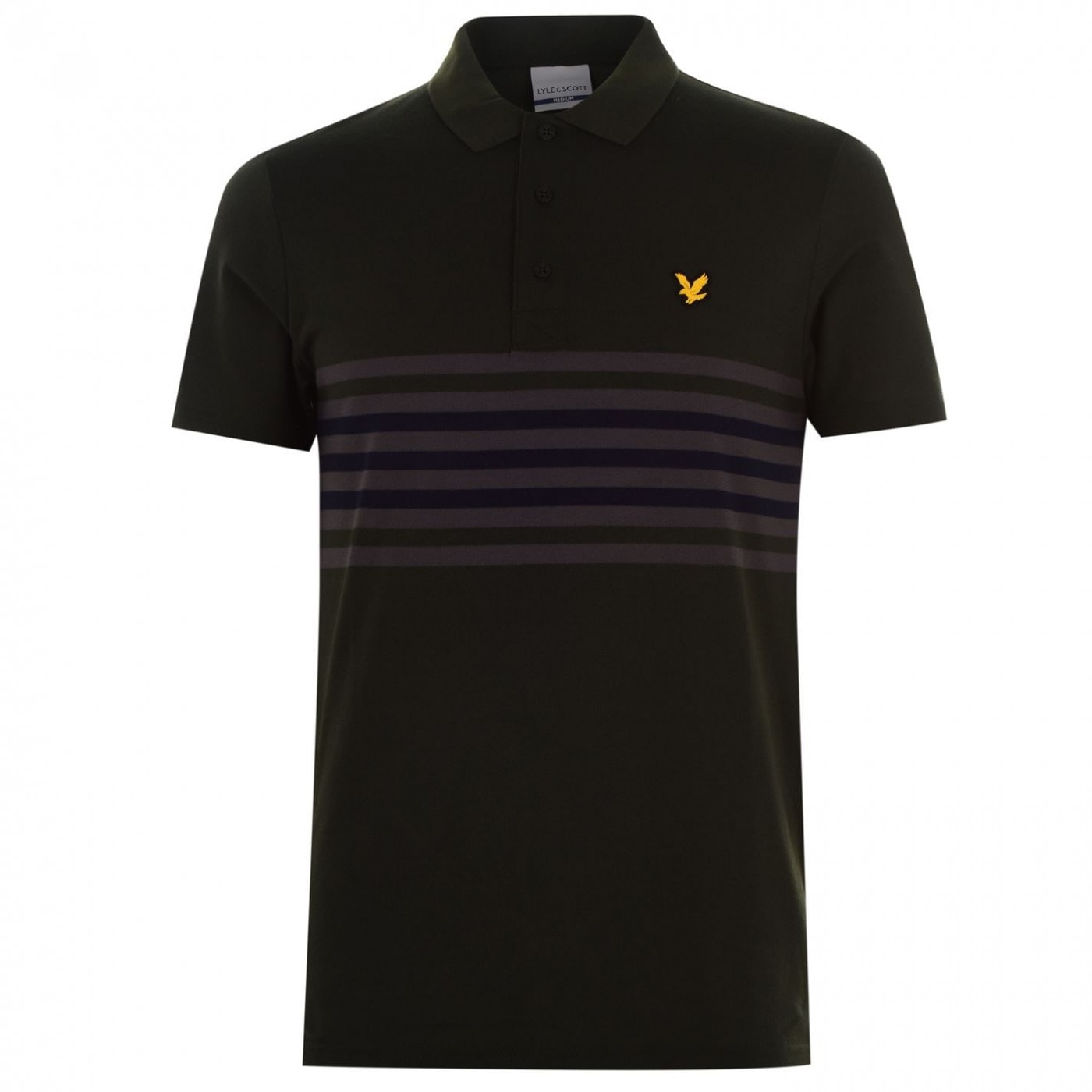 Lyle and Scott and Scott Plus Striped Polo Shirt