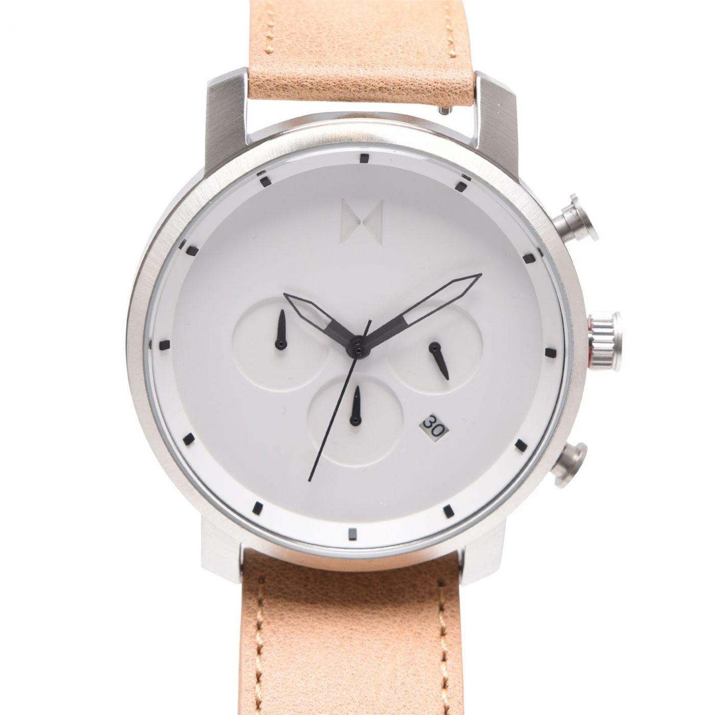 MVMT Chrono Leather Watch