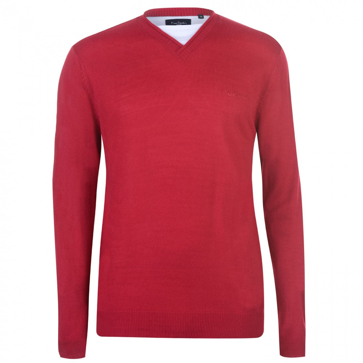 Pierre Cardin Mock Tee Neck Knit Mens